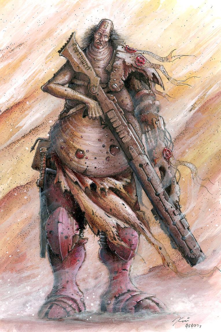Inq28, Inquisitor, Necromunda, Nurgle, Spiky Rat Pack, Warhammer 40,000