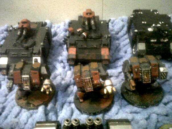 Assault Squad, Assault Terminators, Combat Squad, Dreadnought, Land Raider, Land Raider Redeemer, Razorback, Rhino, Scouts, Space Marines, Tactical Squad, Terminator Armor