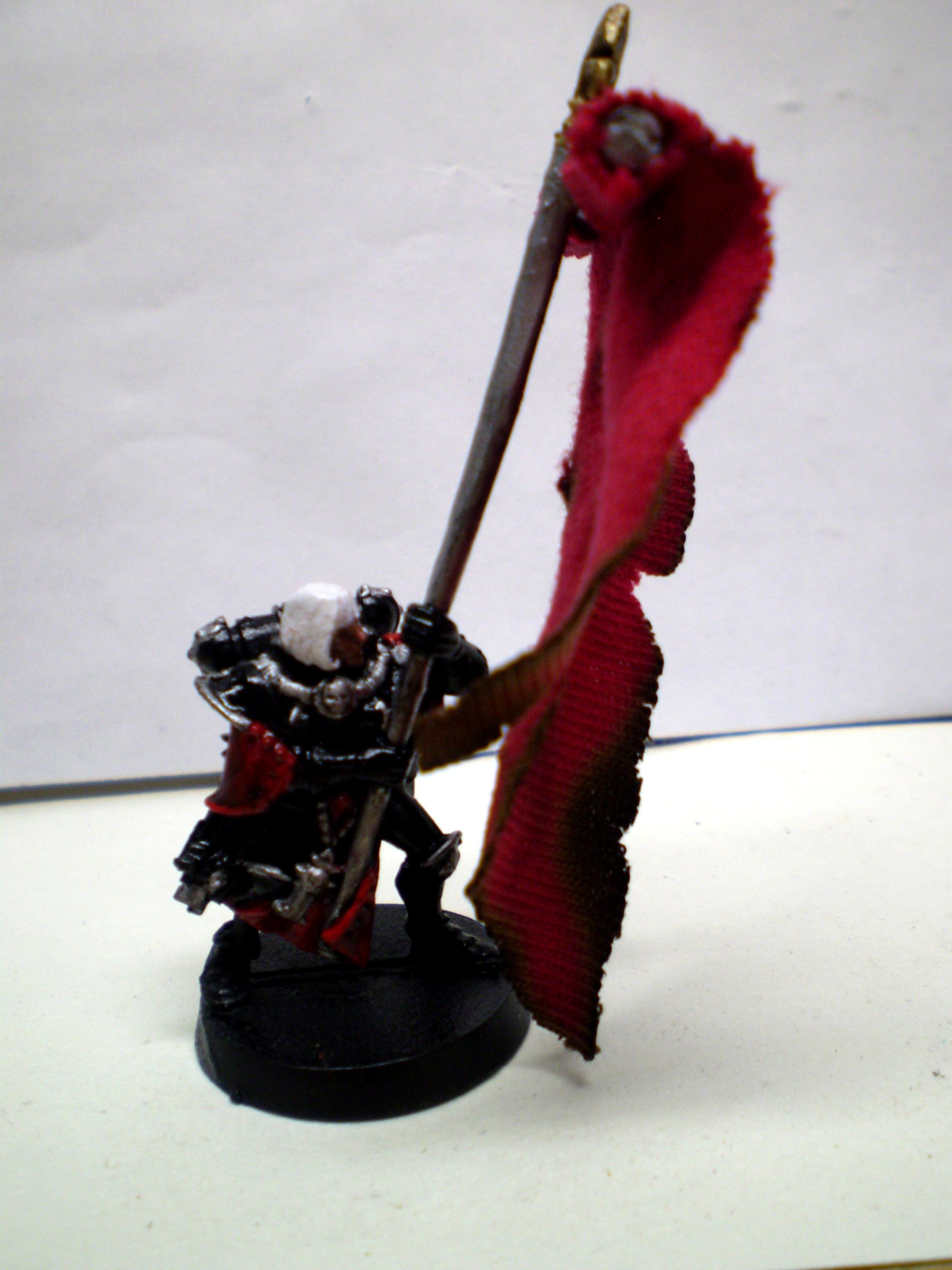 Sisters Of Battle, Custom Banner Bearer