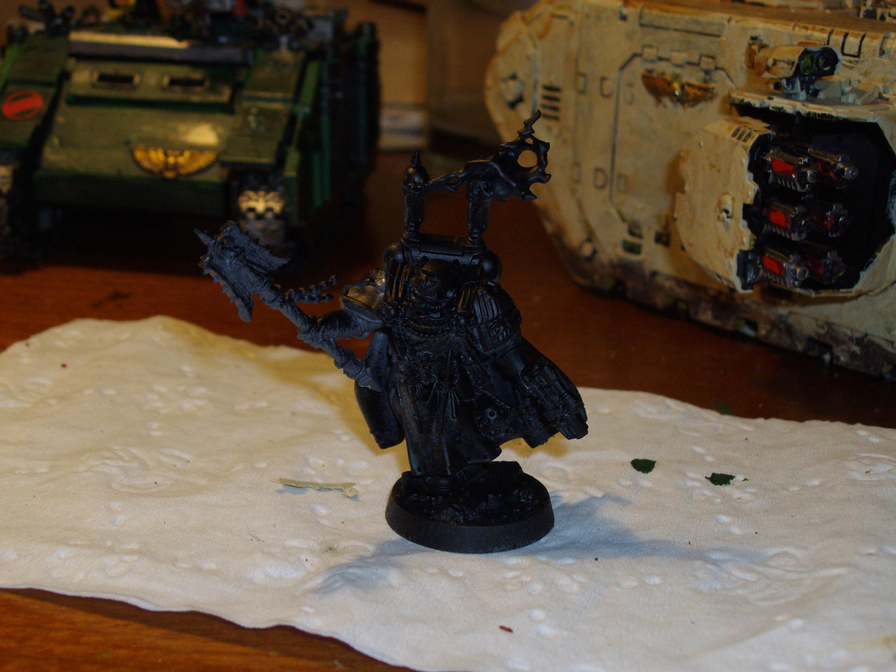 Chaplain, Dark Vengance, Exclusive, Work In Progress
