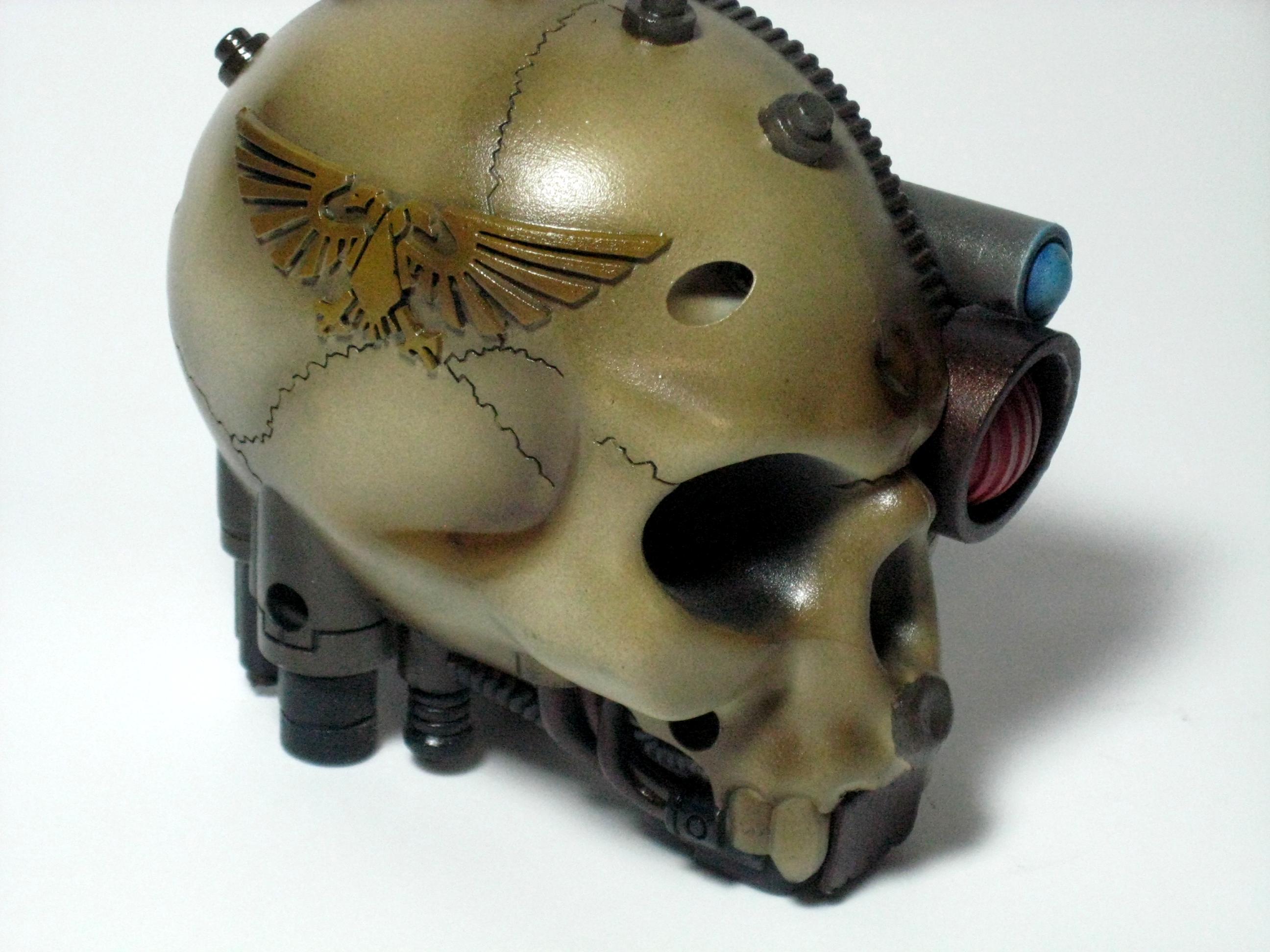 Airbrush, Cool, Imperial Guard, Measure, Servo Skull, Skull, Tape