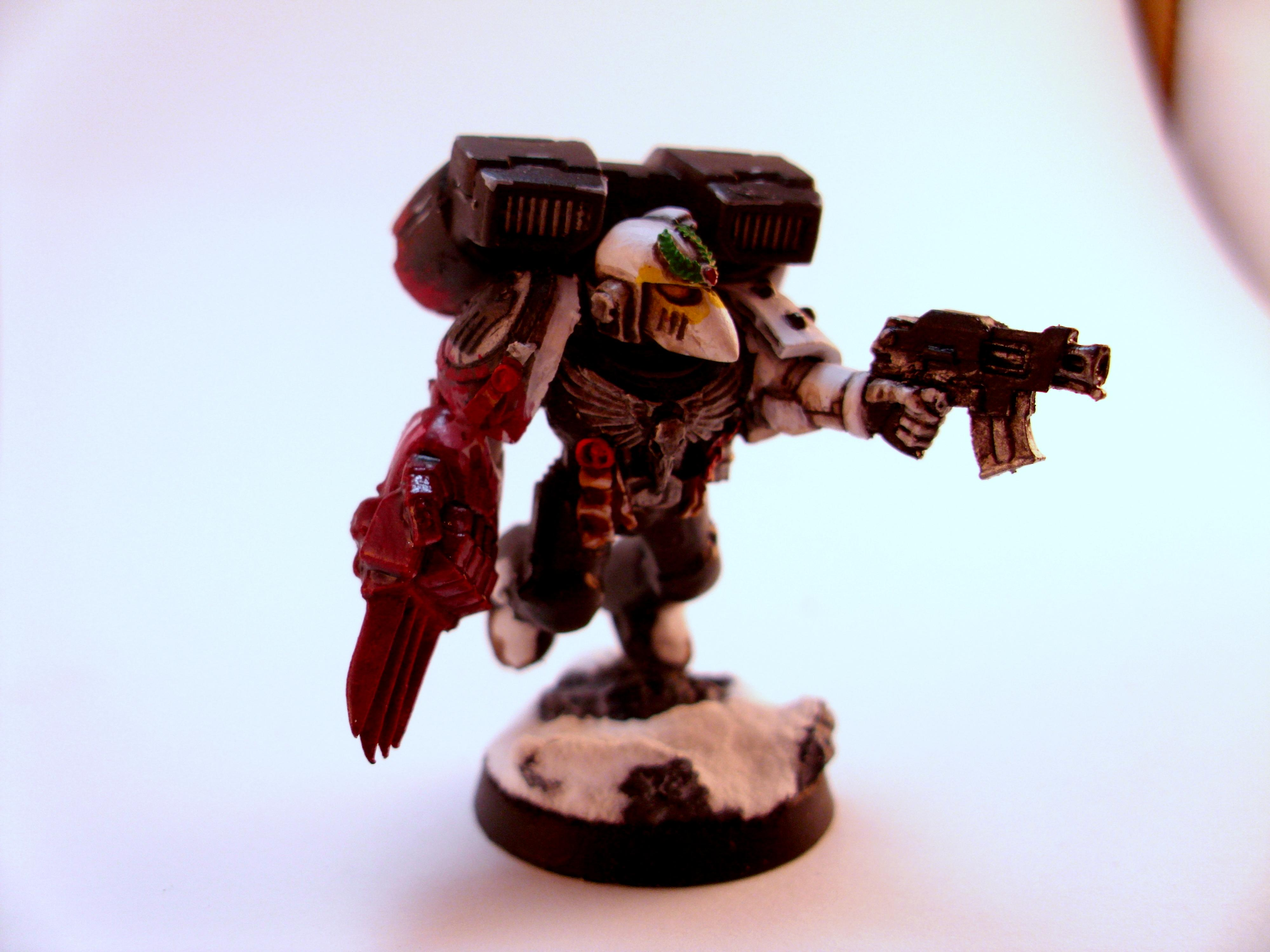 Jump Pack, Lightning Claw, Raven Guard, Space Marines