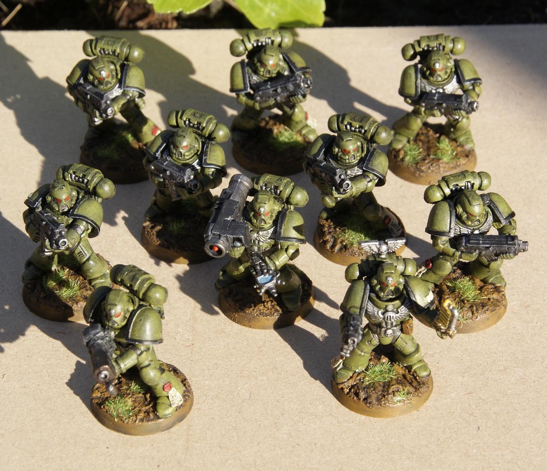 Raptors, Space Marines, Tactical Squad