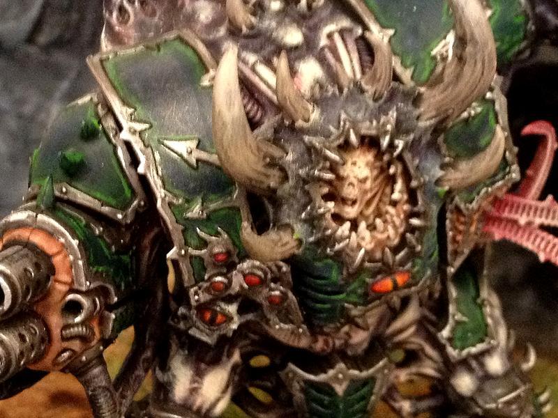 Alpha Legion, Chaos, Chaos Space Marines, Dark Vengeance, Hell Brute