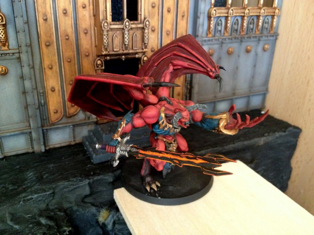Daemon Prince, Daemons, Work In Progress