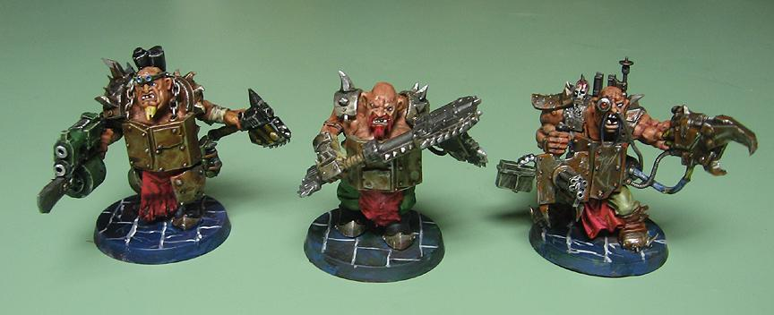 Chaos Cultists, Ogryns, Renegades