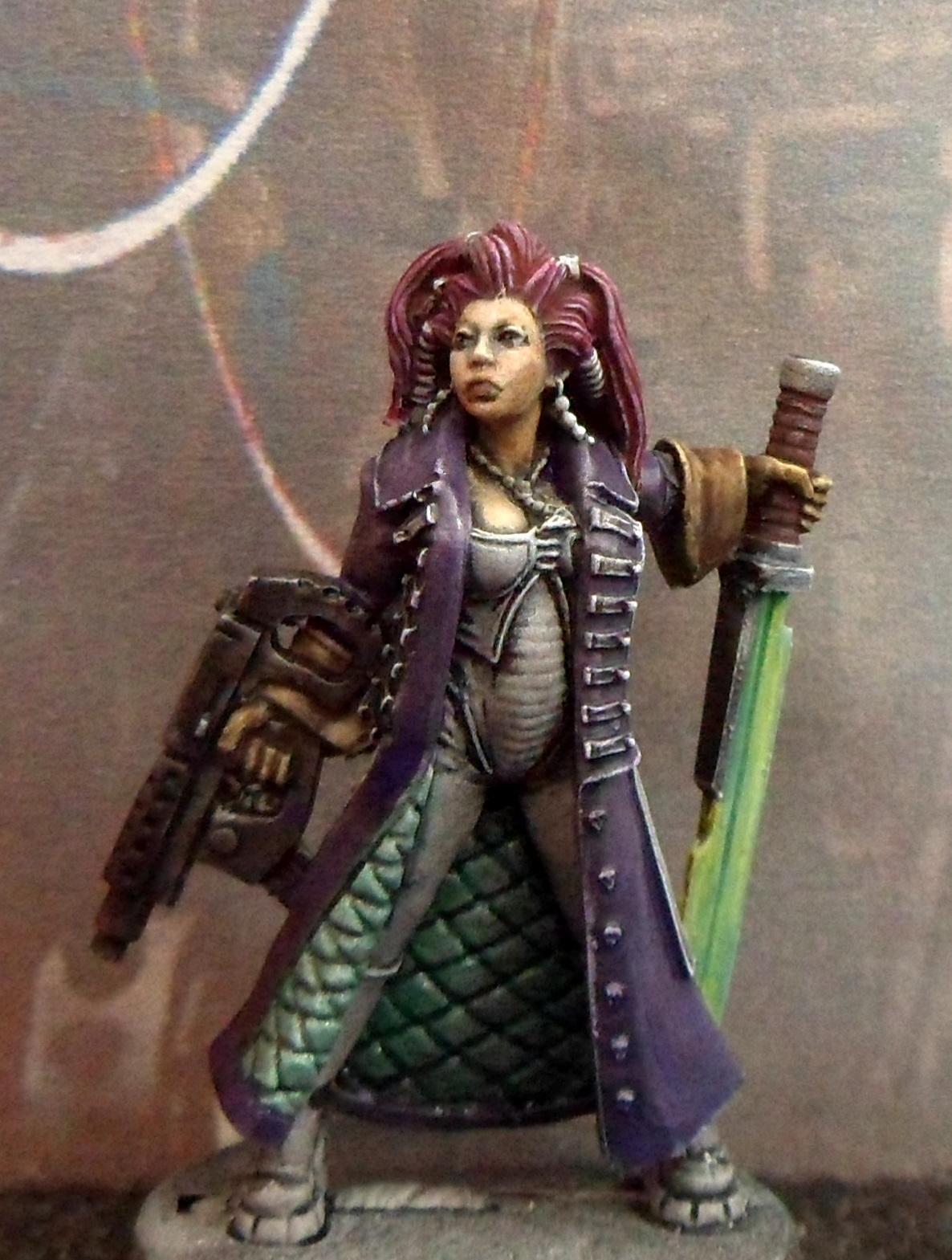 Female, Mercenary, Modern