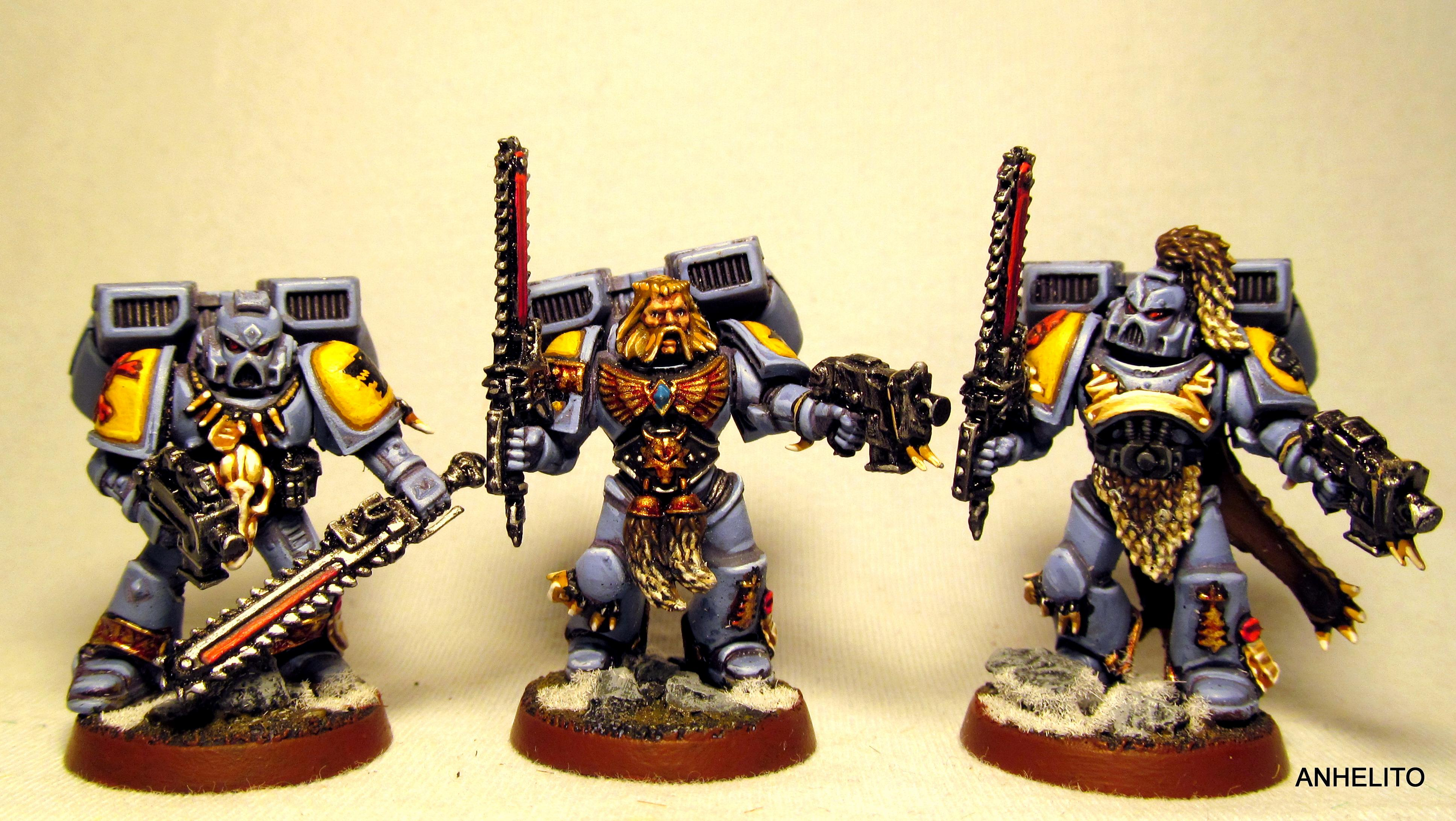 Sky Claws, Space Wolves