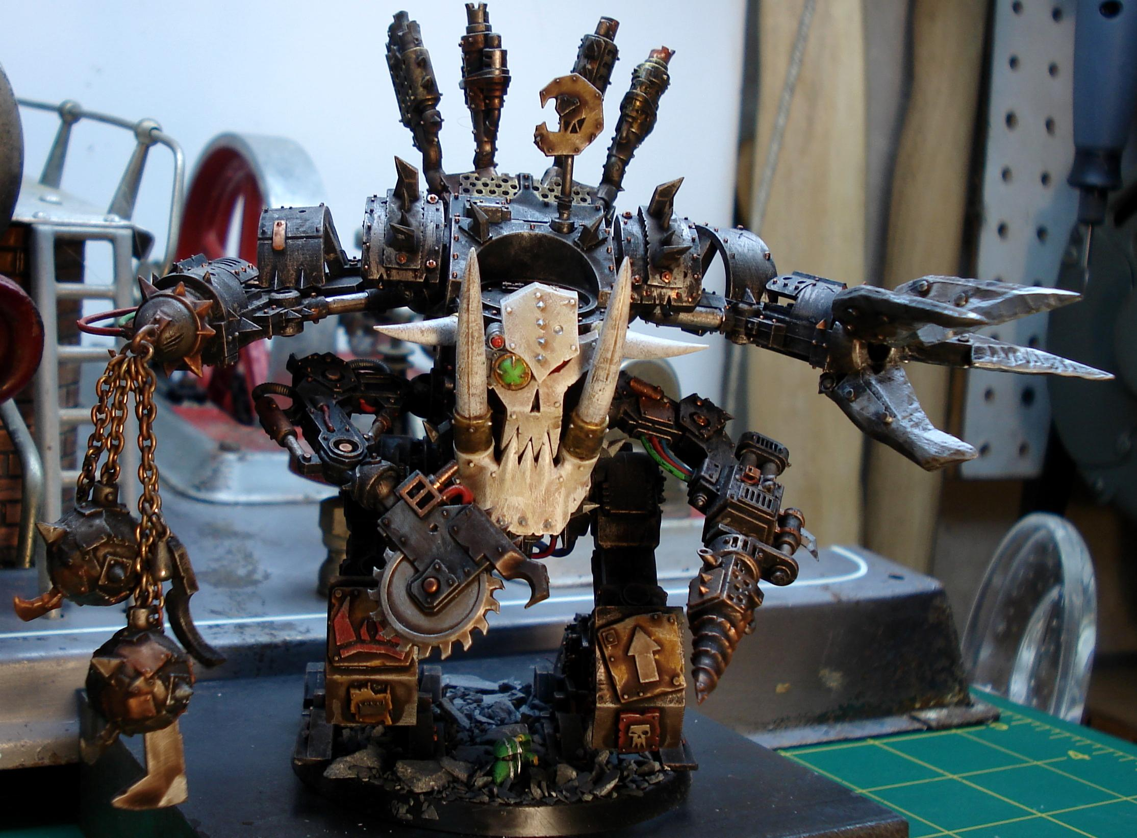 Bad Moons, Claw, Comission, Custom, Deff, Dreadnought, Field, Force, Kustom, Moons, Orks, Space Marines