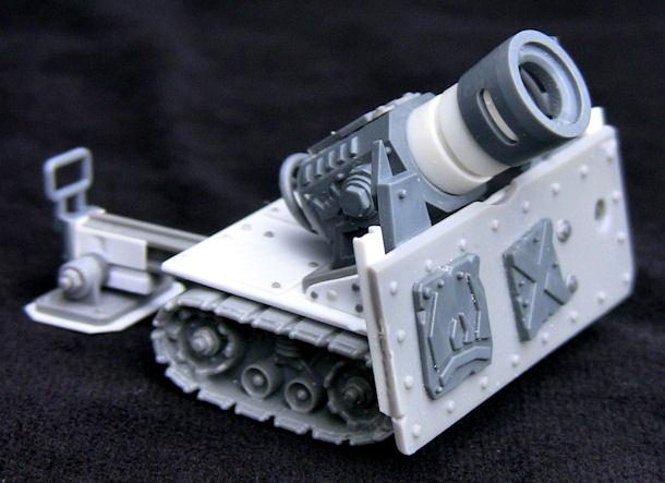 Ork Big Guns, lobba 1 - front left view
