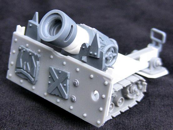 Ork Big Guns, lobba 1 - front right view