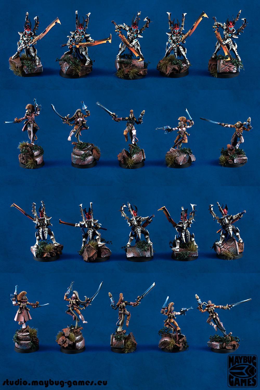 Dark Eldar, Dark Eldars, Eldar, Harlequins, Warhammer 40,000