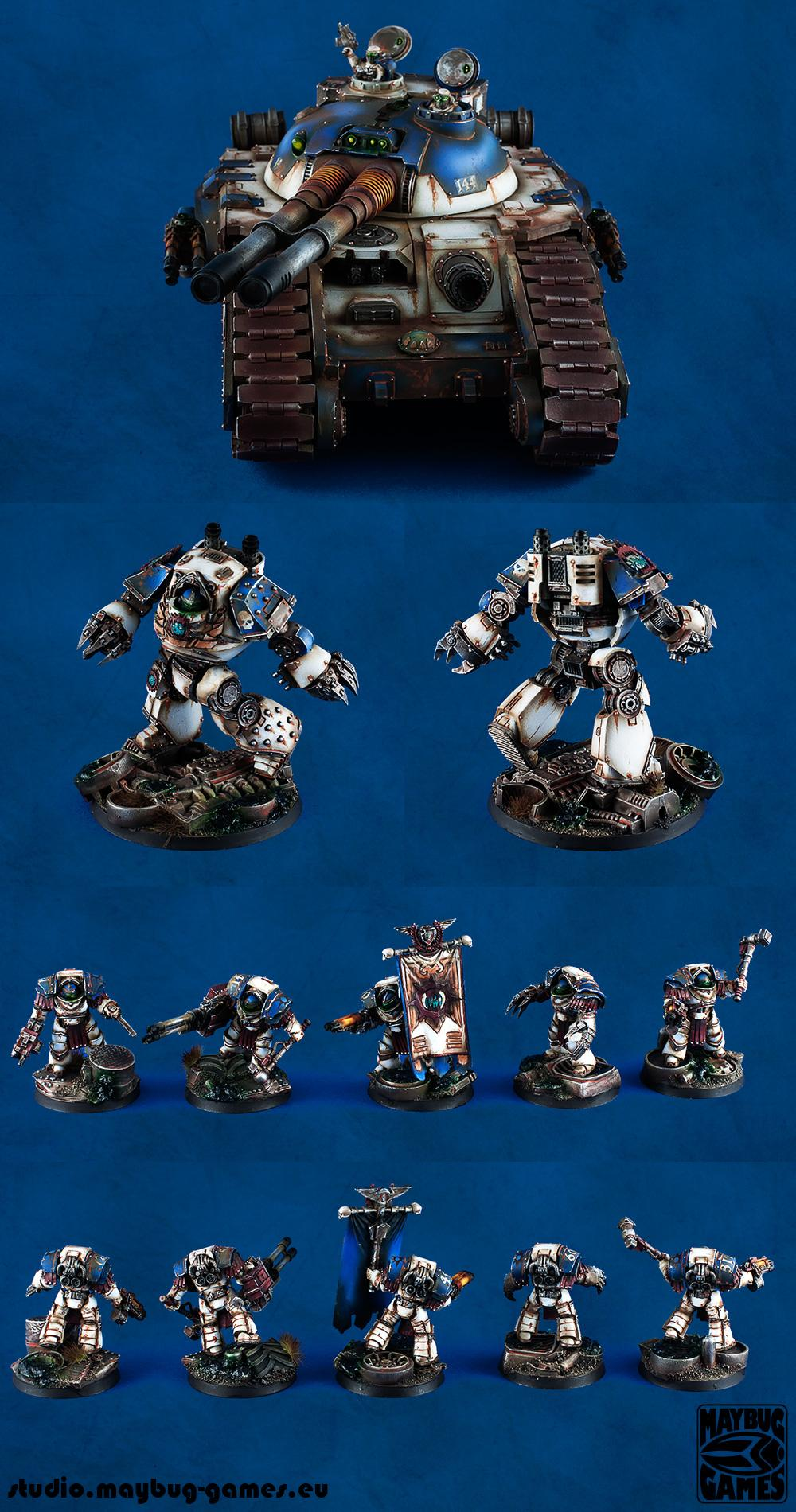 Contemptor, Dreadnought, Pre Heresy, Terminator Armor, Warhammer 40,000, World Eaters