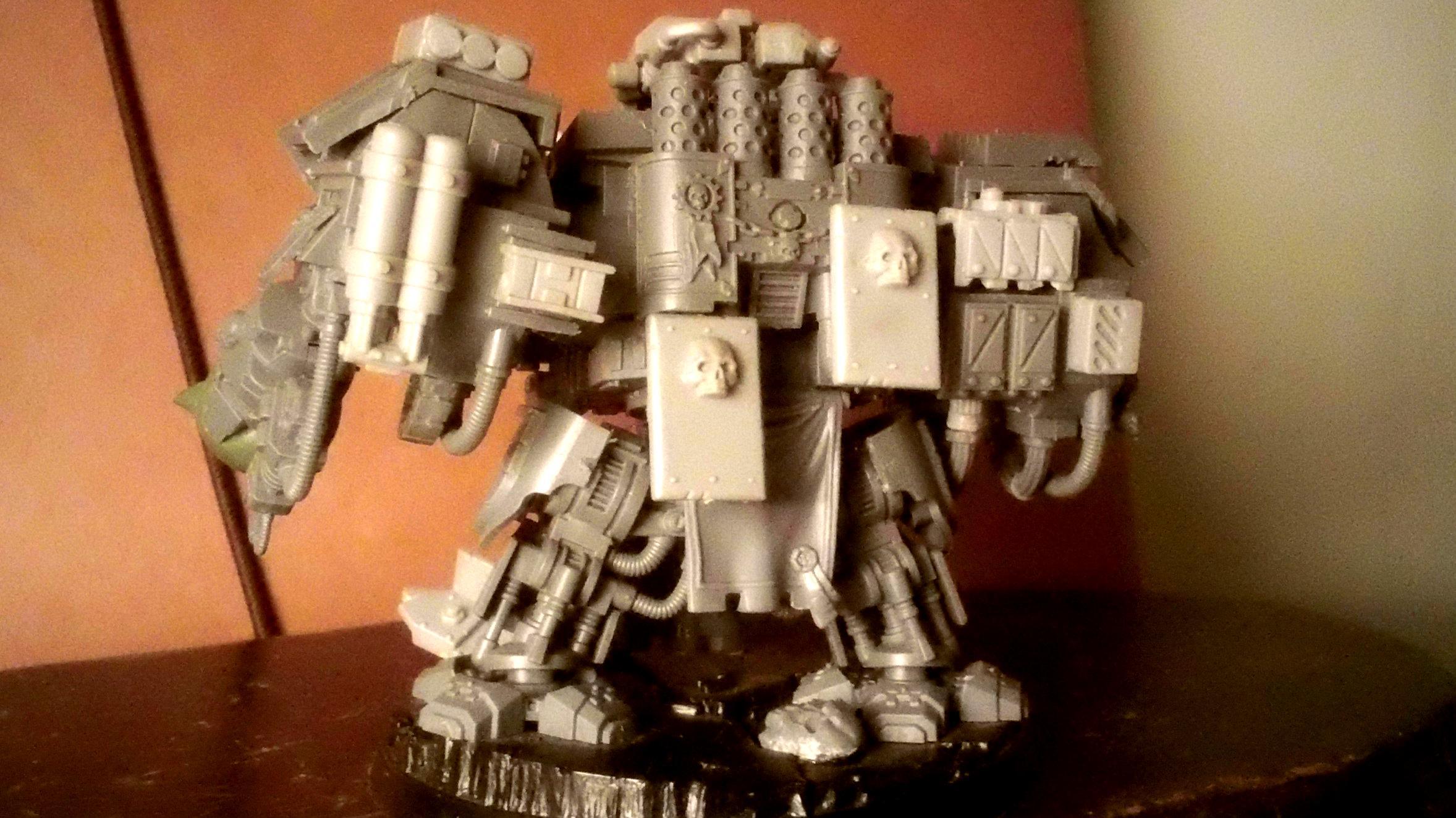 Adeptus, Armor, Conversion, Dreadnought, Extra, Mechanicus, Work In Progress