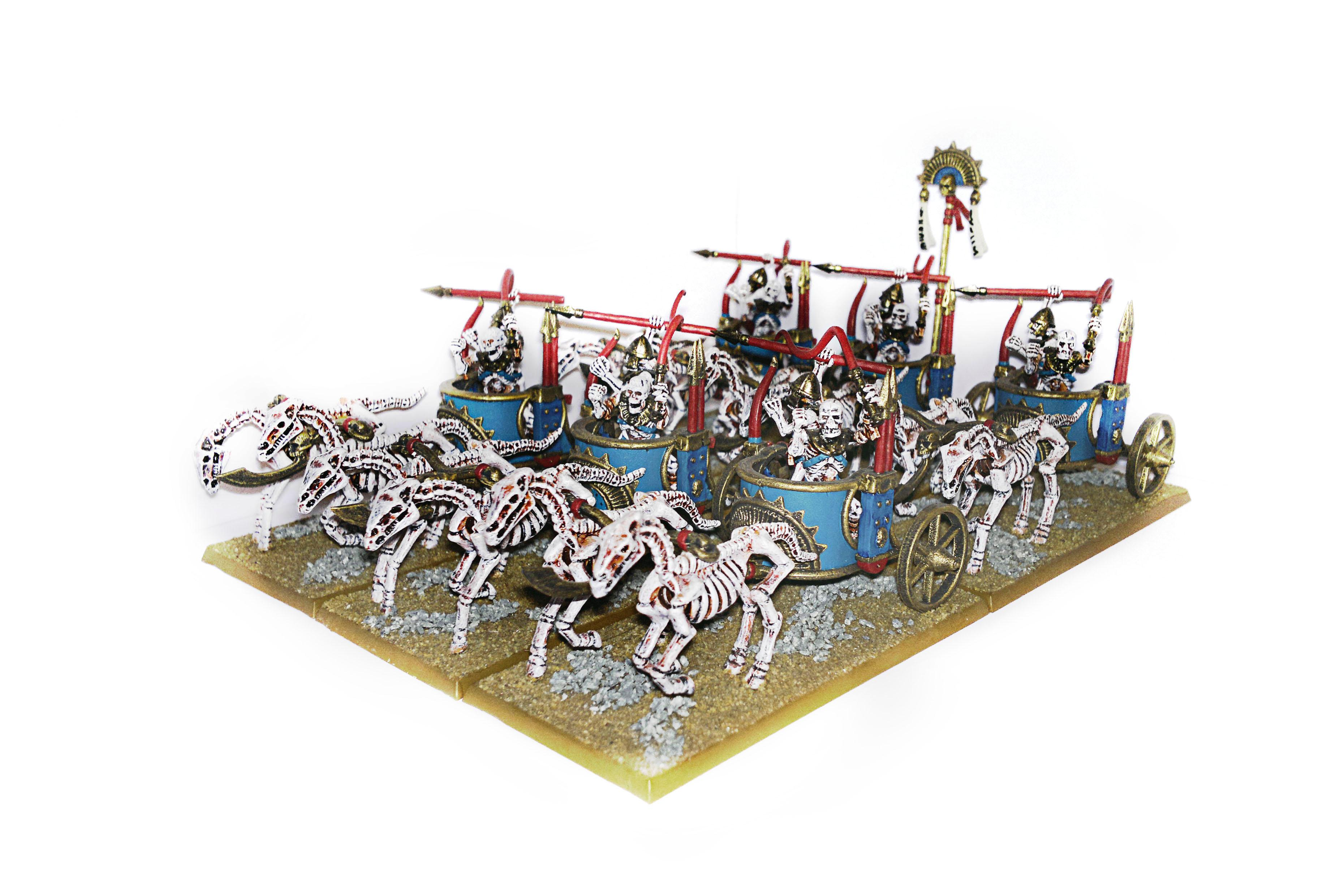 Chariots, Tomb Kings, Undead