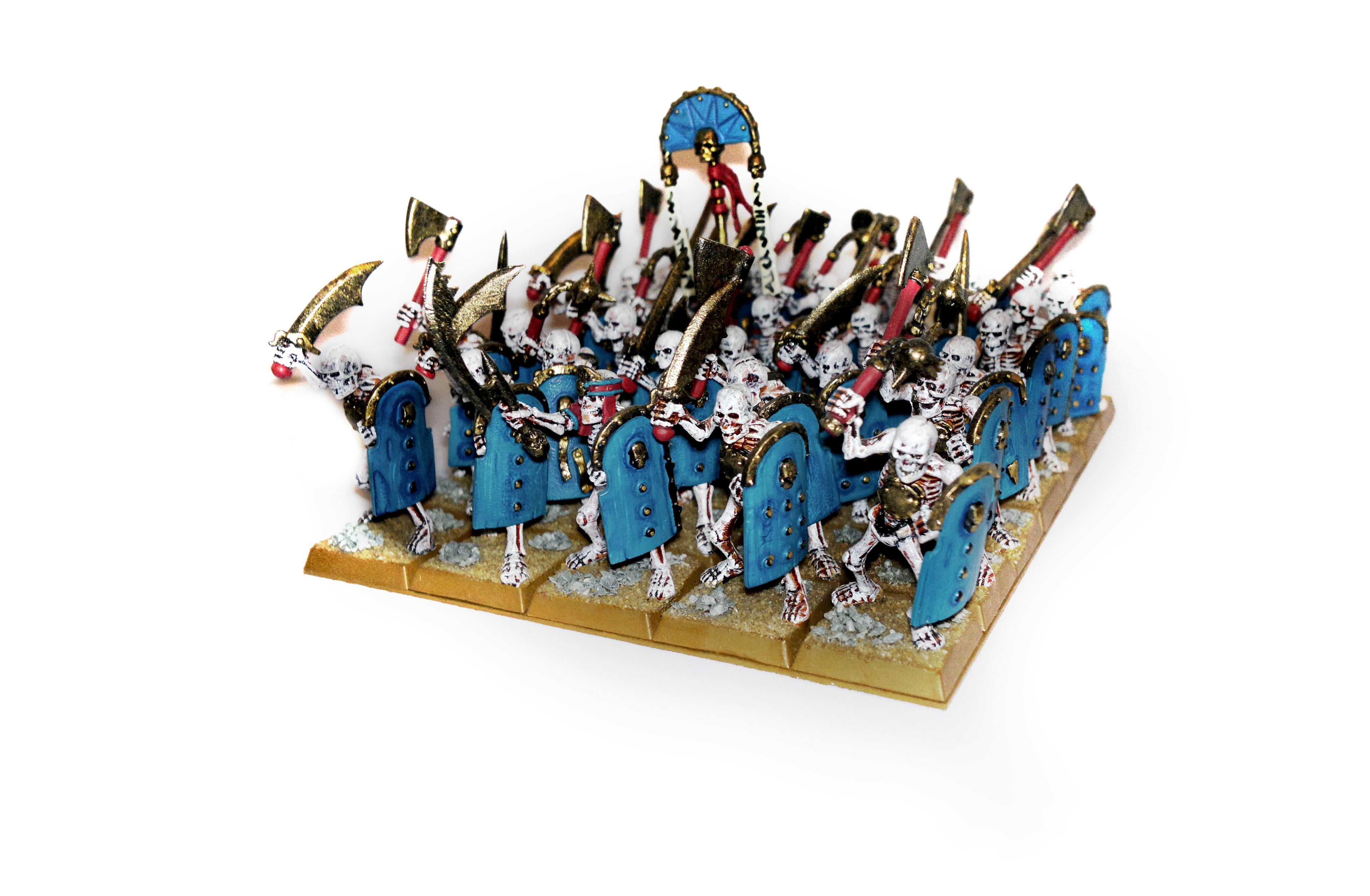 Skeleton Warriors With Hand Weapons