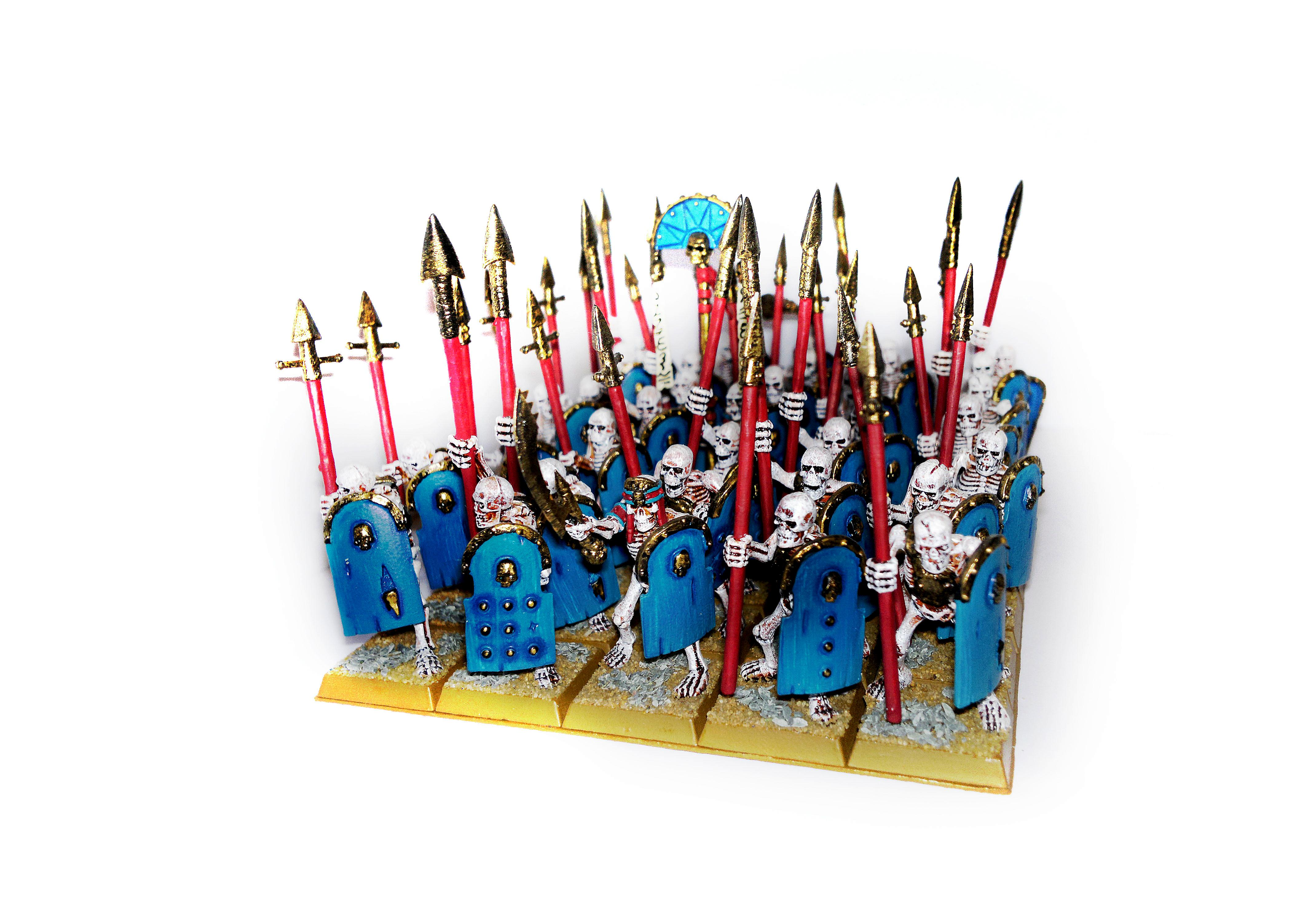 Skeleton Warriors With Spears
