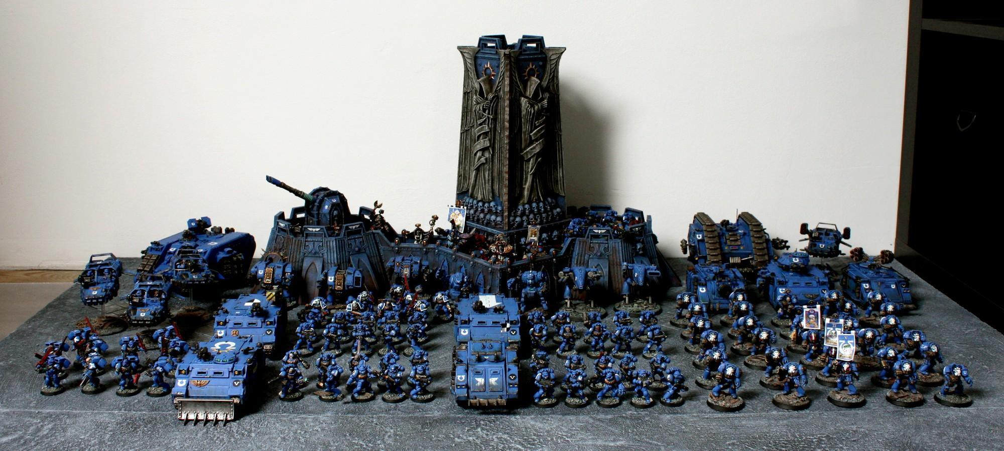 Army, Company, Fortress, Ultramarines