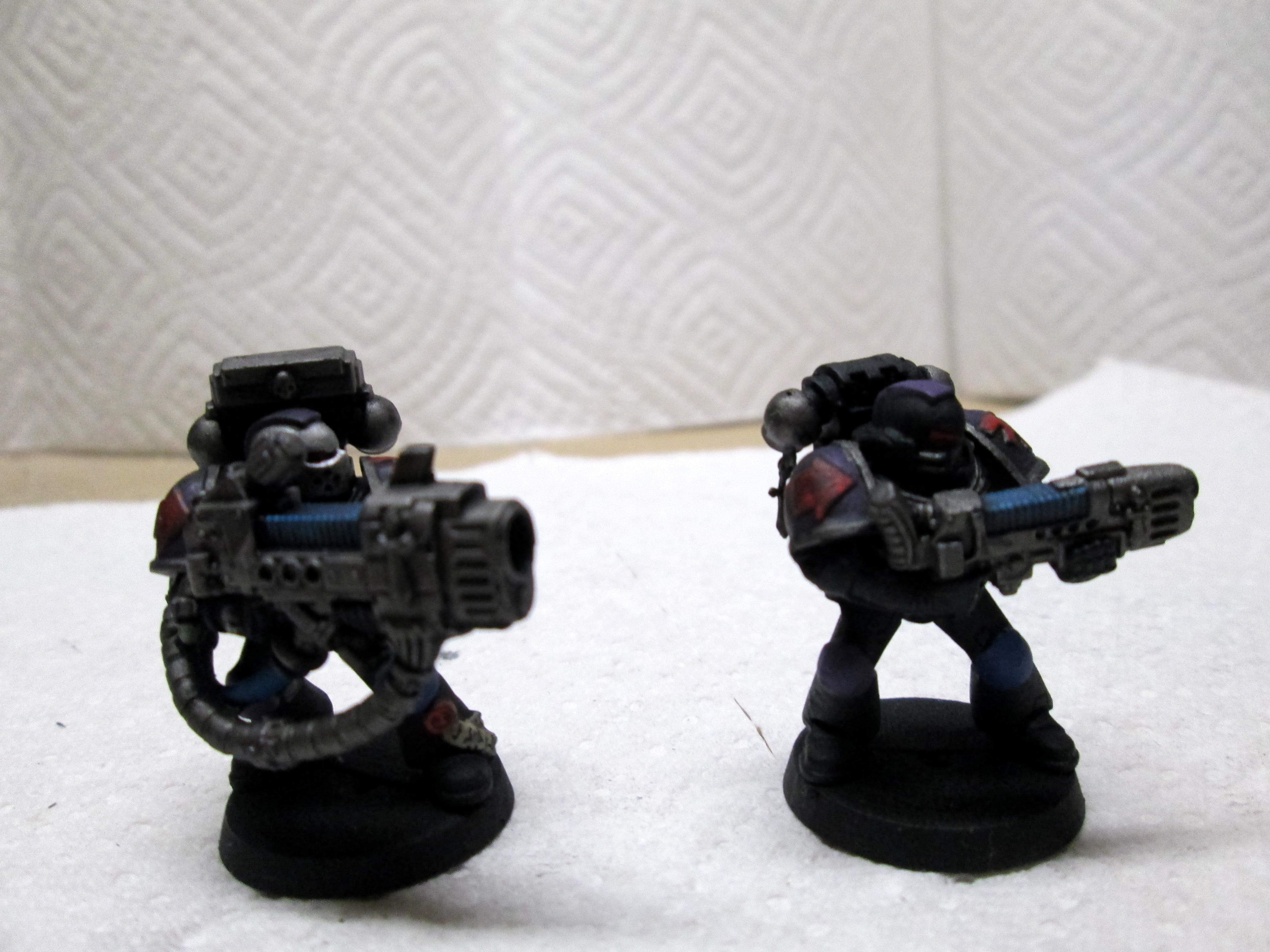 Critique, Custom, Dark Angels, Finished, Minis, Painted, Plasma, Plasma Cannon, Space Marines, Successor, Warhammer 40,000