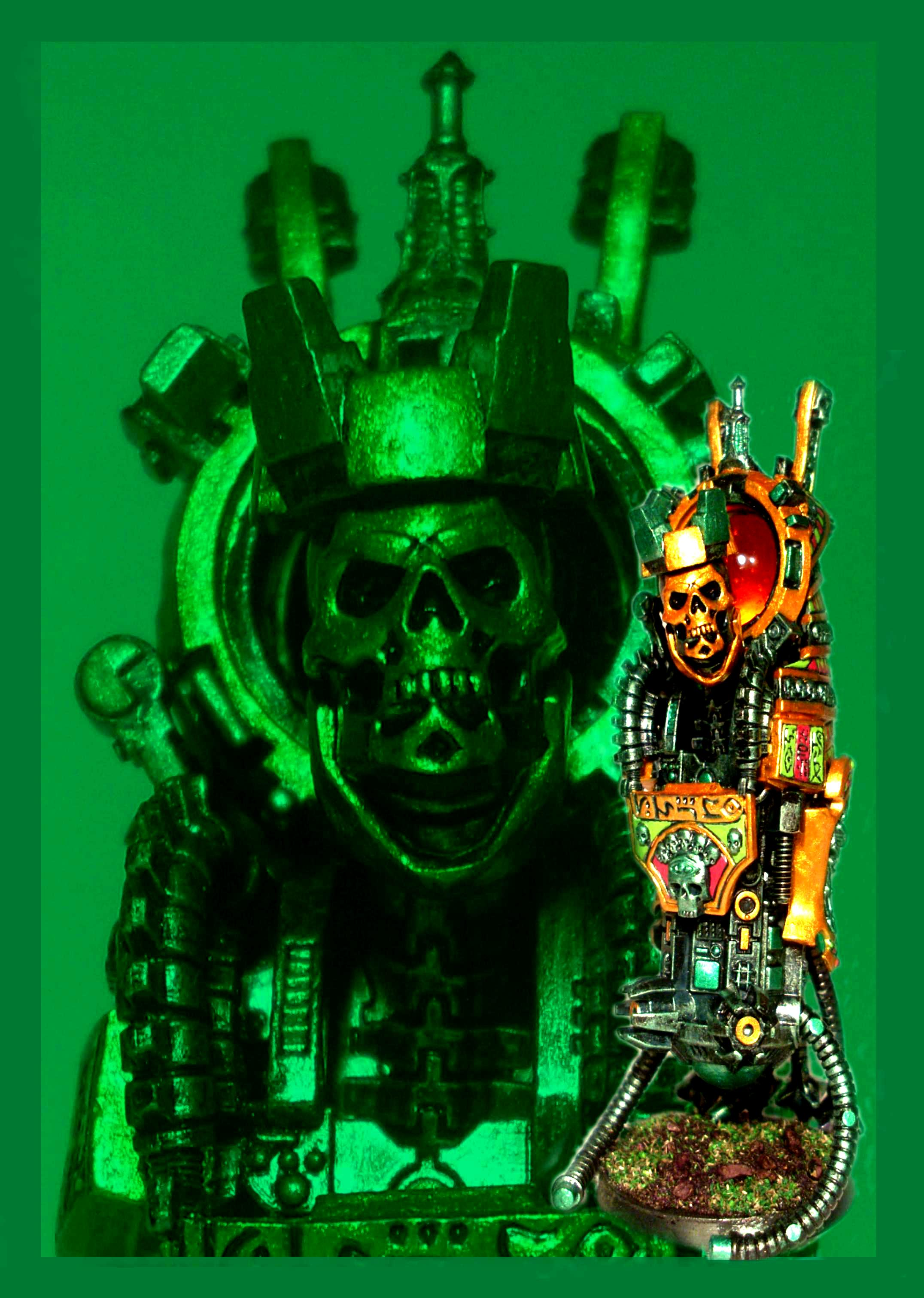 Necrons, Tomb Kings, Tomb Lord