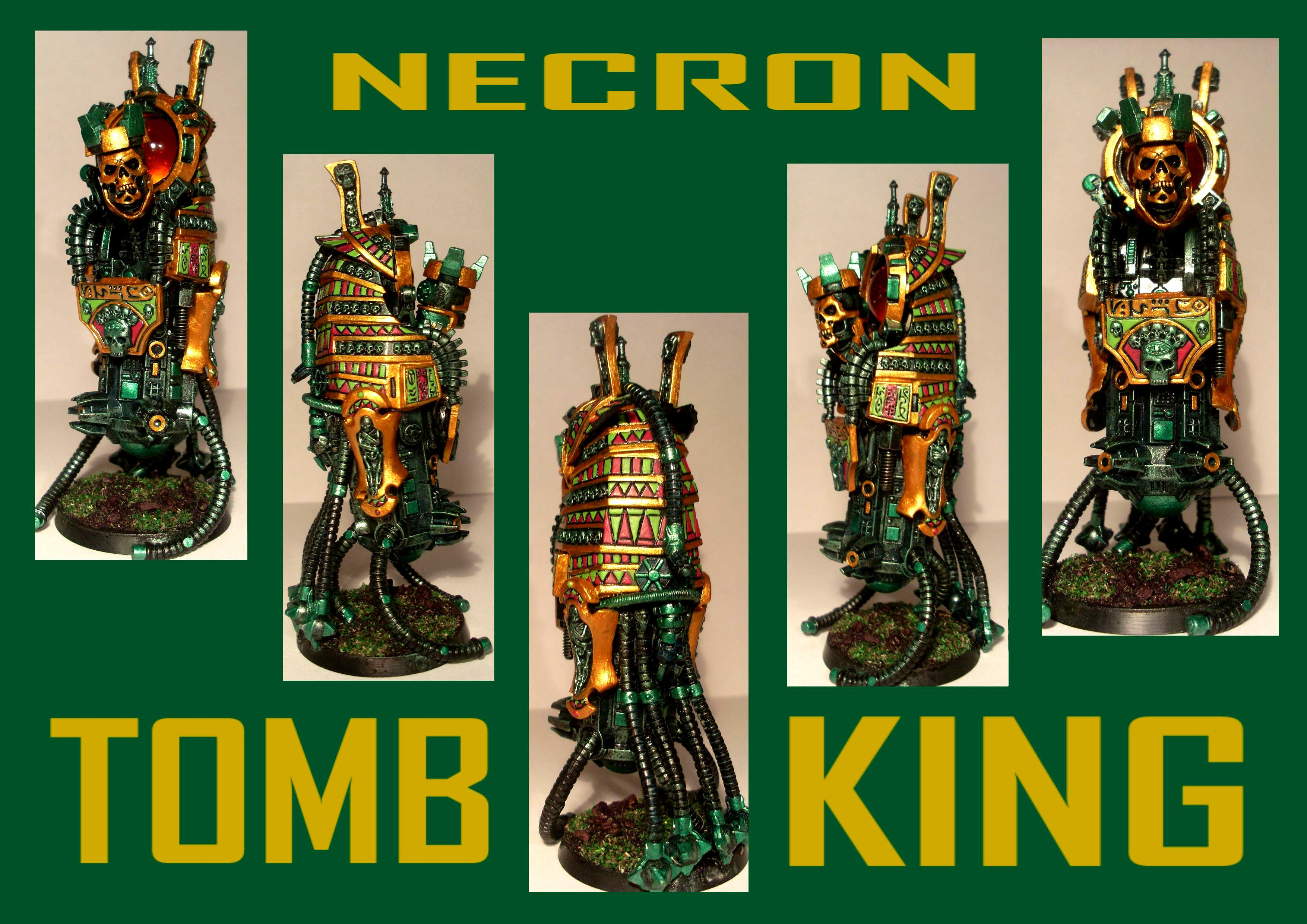 Headquarters, Necrons, Tomb Kings, Tomb Lord