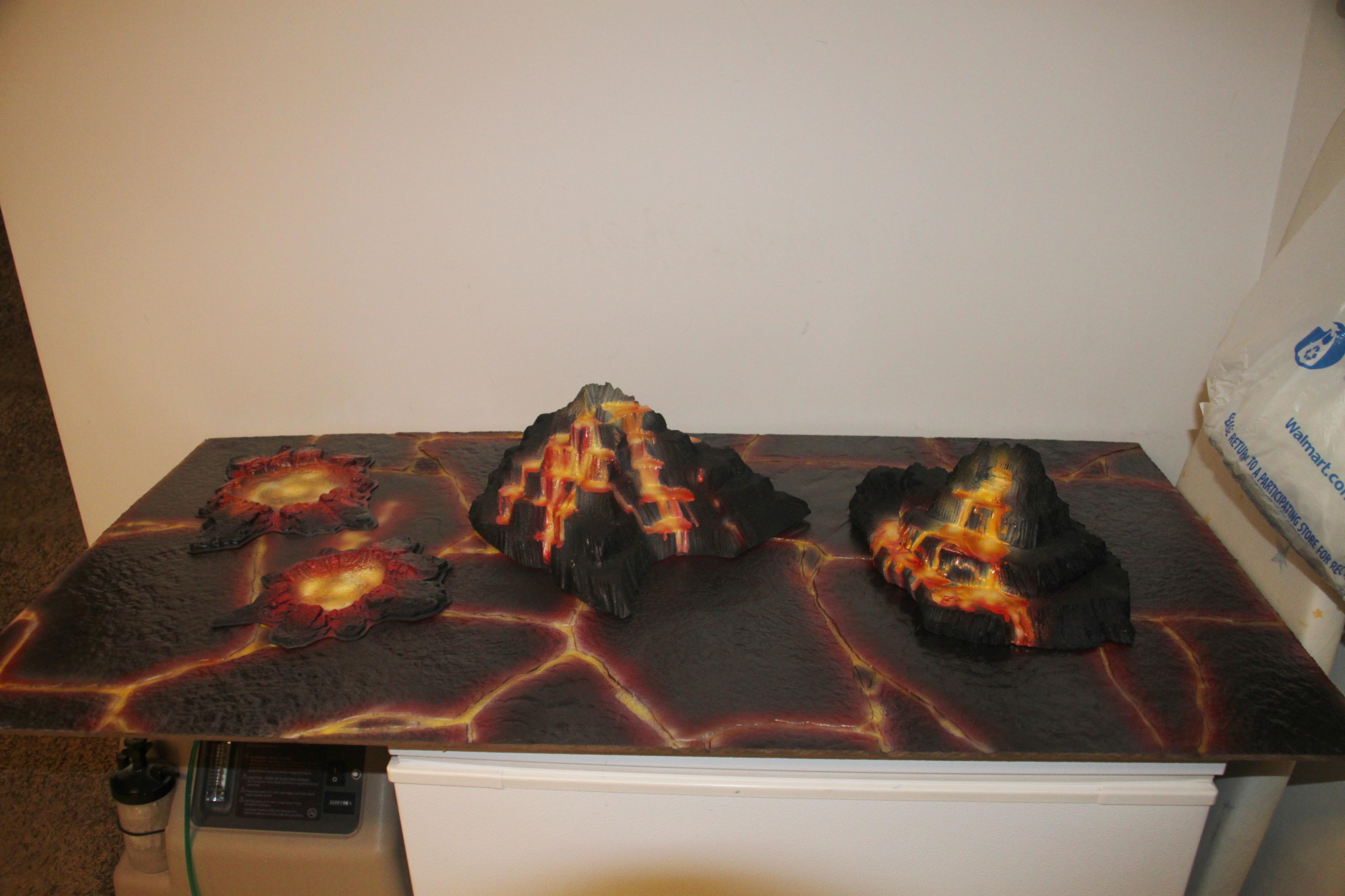 Board, Lava, Terrain, Volcanic, Volcano