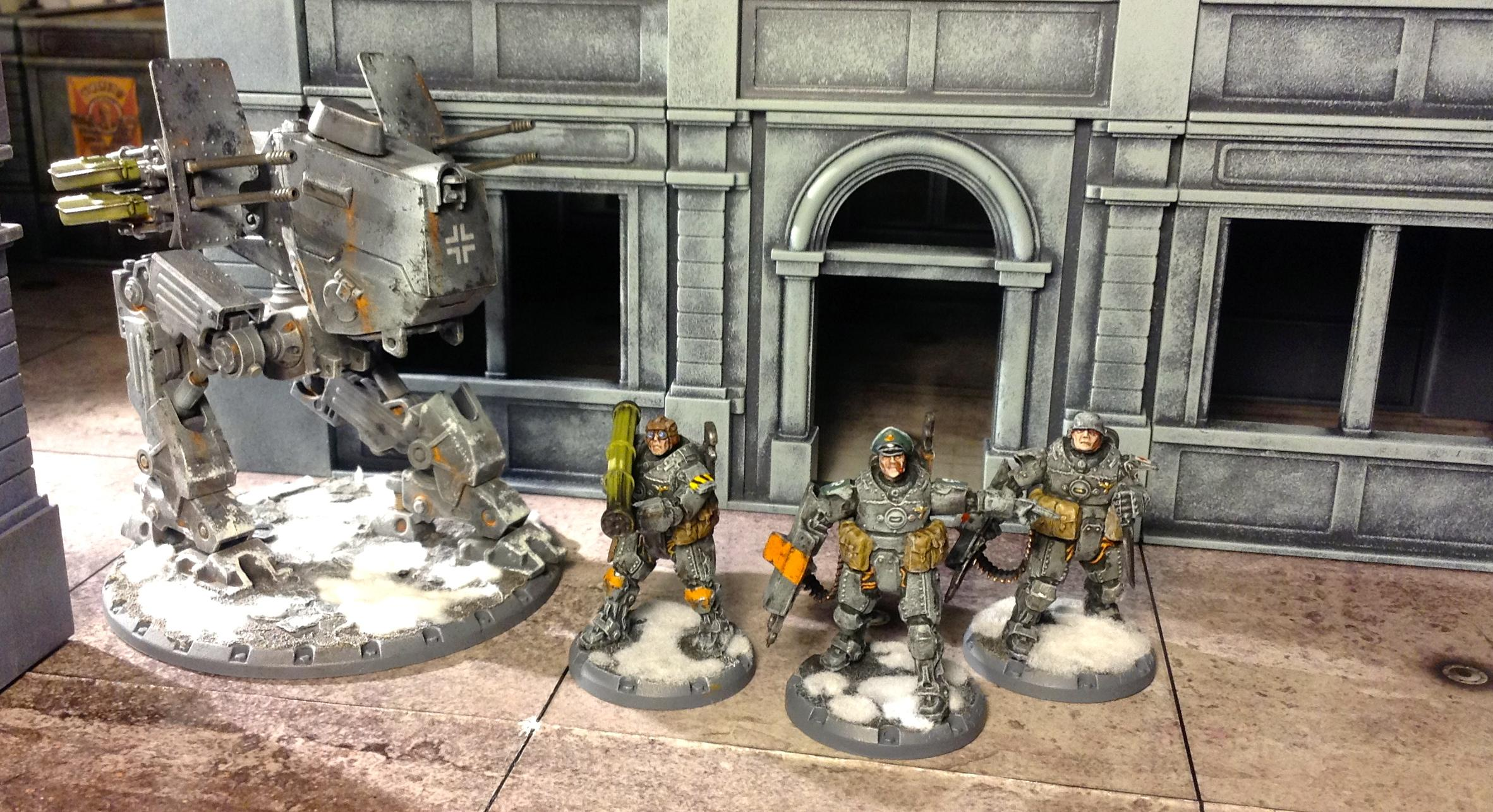 Armored, Axis, Corps Officer, Dust Tactics, Dust Warfare