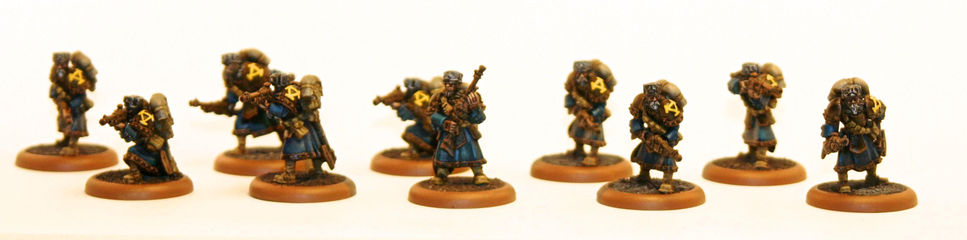 Hordes, Khador, Rifle Corps, Warmachine