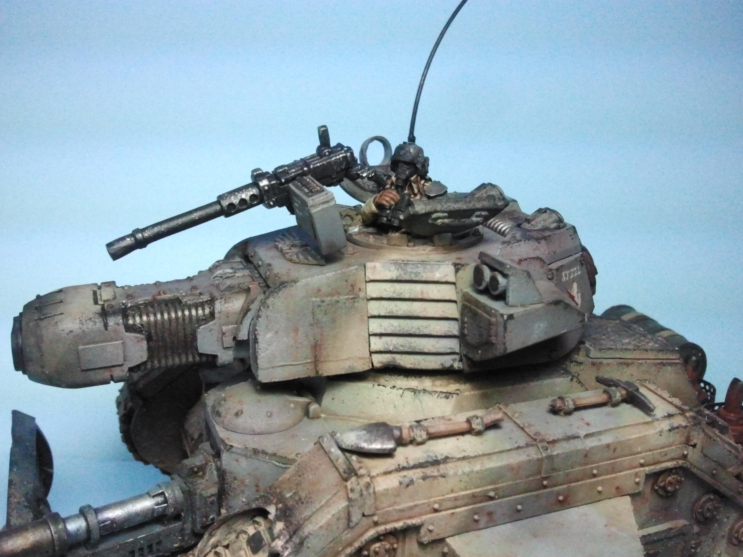 Conversion, Executioner, Imperial Guard, Leman Russ, Steel Legion, Tank, Tank Conversion