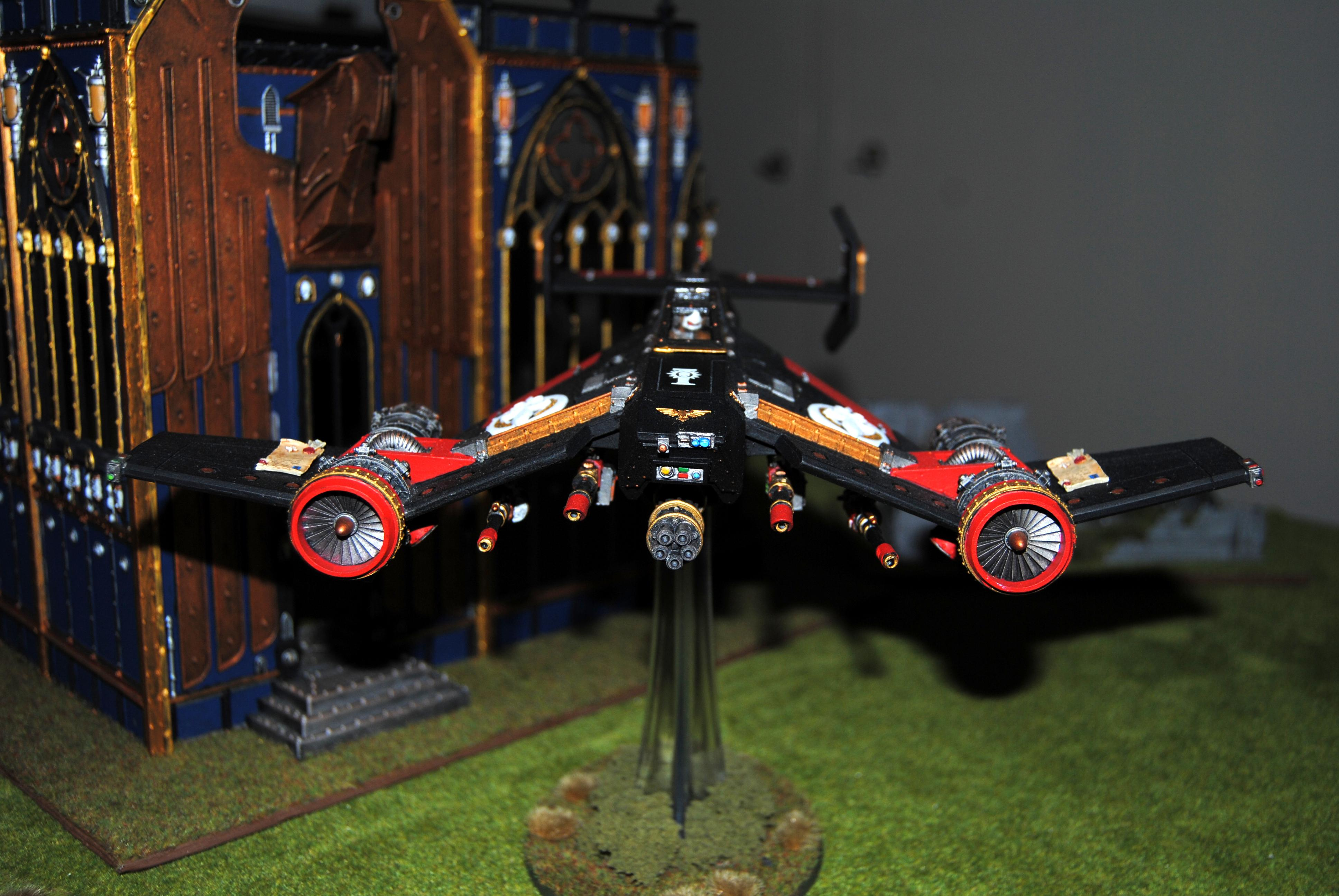 Adepta Sororitas, Avenger Strike Fighter, Flyer, Forge World