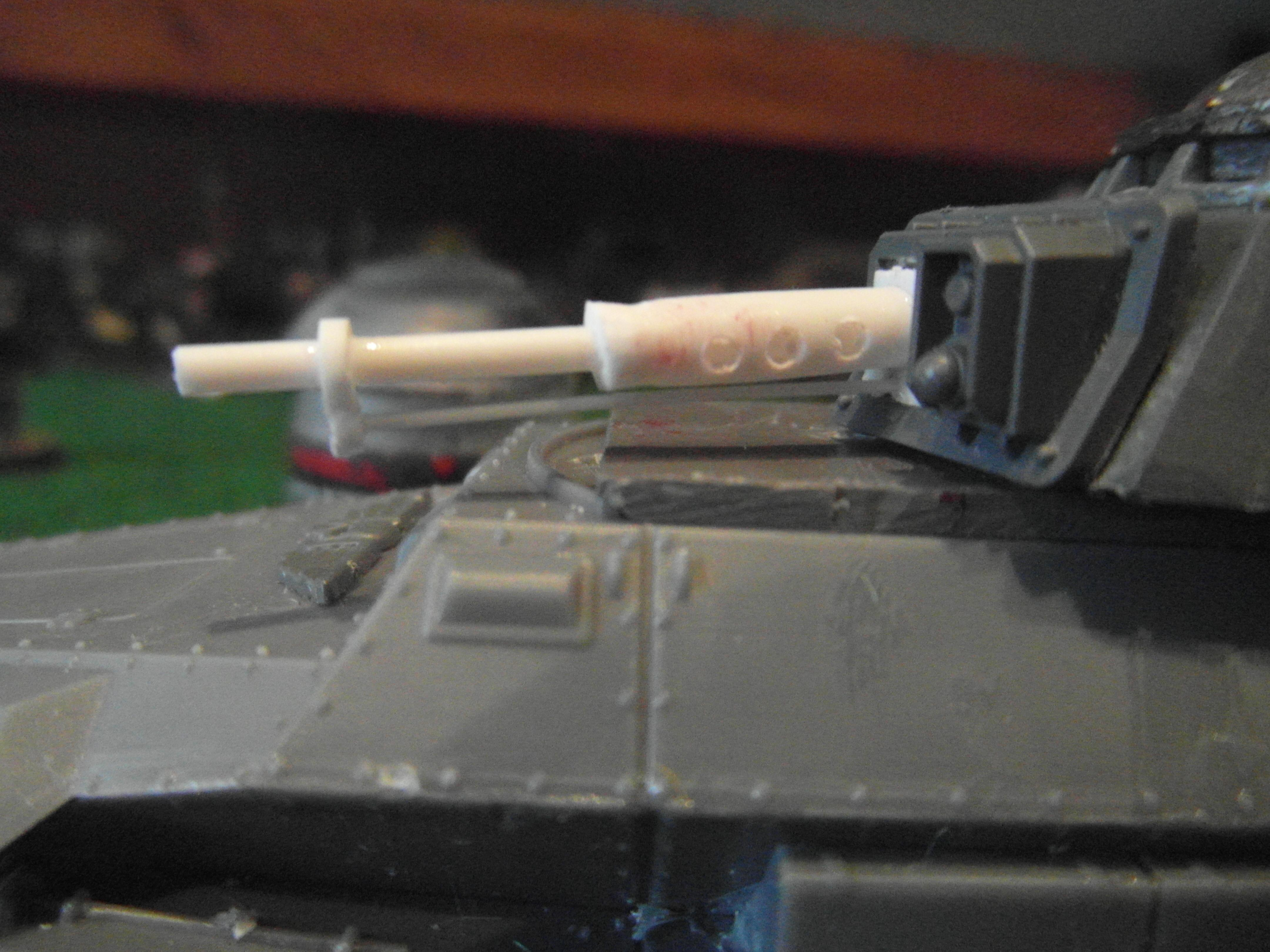 I have used plasticard rods to assemble an alternate heavy stubber