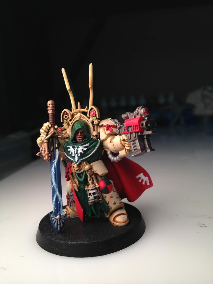 Belial, Dark Angels, Kitbash, Master Of The Deathwing, Sword Of Silence