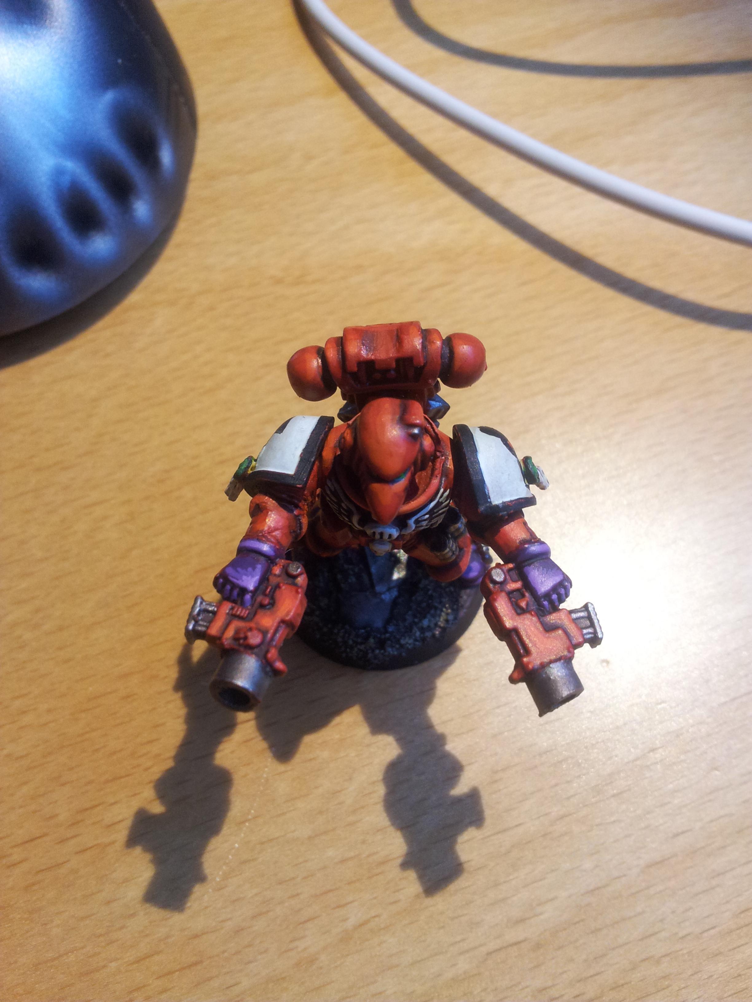 Gangsta Pose Striking Skull Space Marine