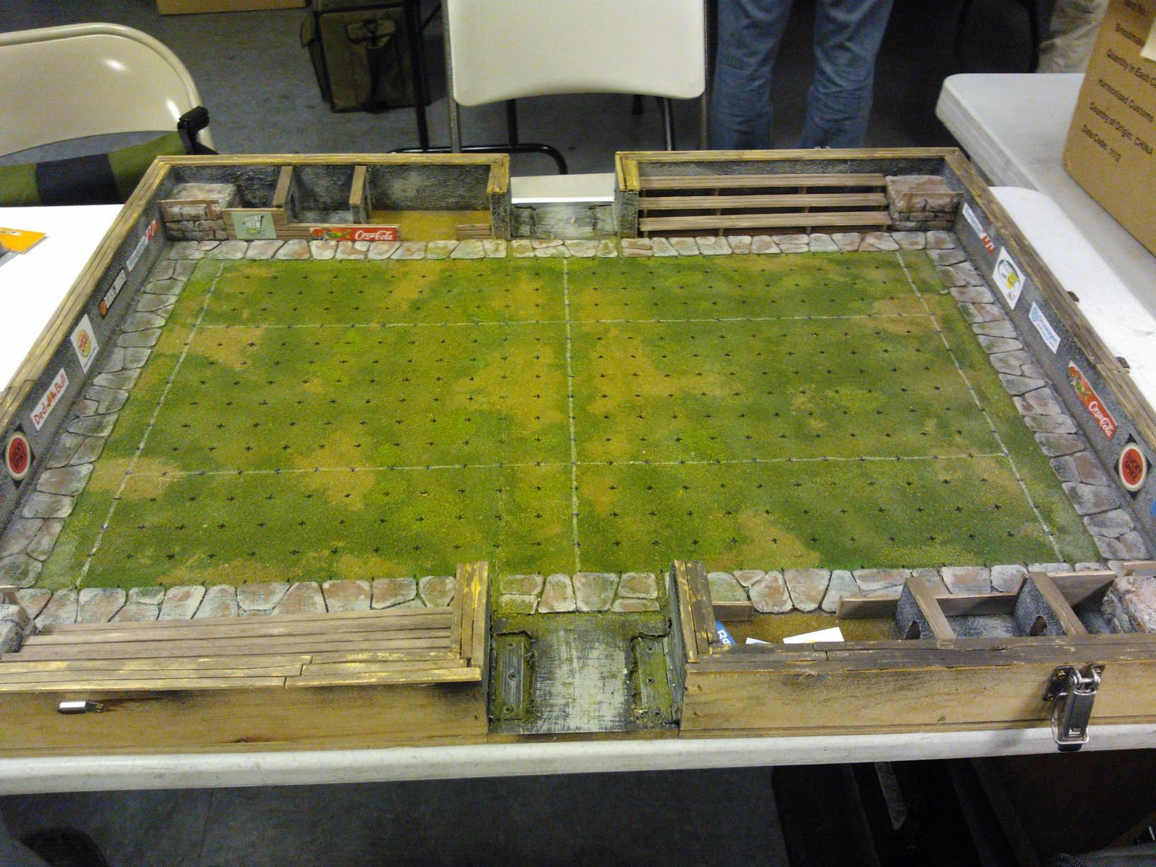Blood Bowl, Board, Pitch