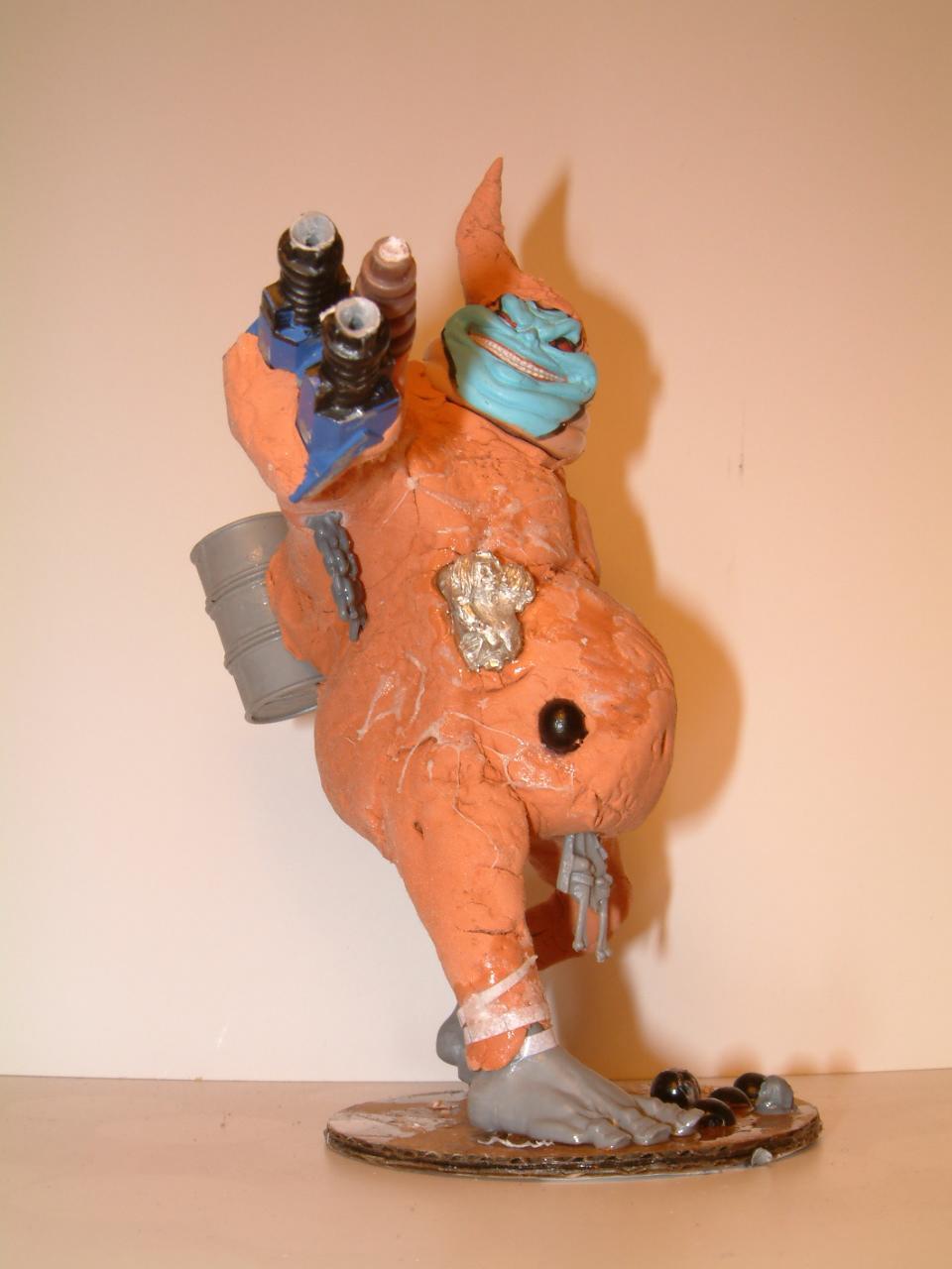 Chaos, Conversion, Crazy, Daemons, Dark, Dead, Done, Garbage, Garbage Garden Gnome, Garden, Ggg, Gnomes, Ice, Imperial, Killacan, Mammon, Mamon, Nurgle, Primach, Scratch Build, Space Marines, Work In Progress, Xemos
