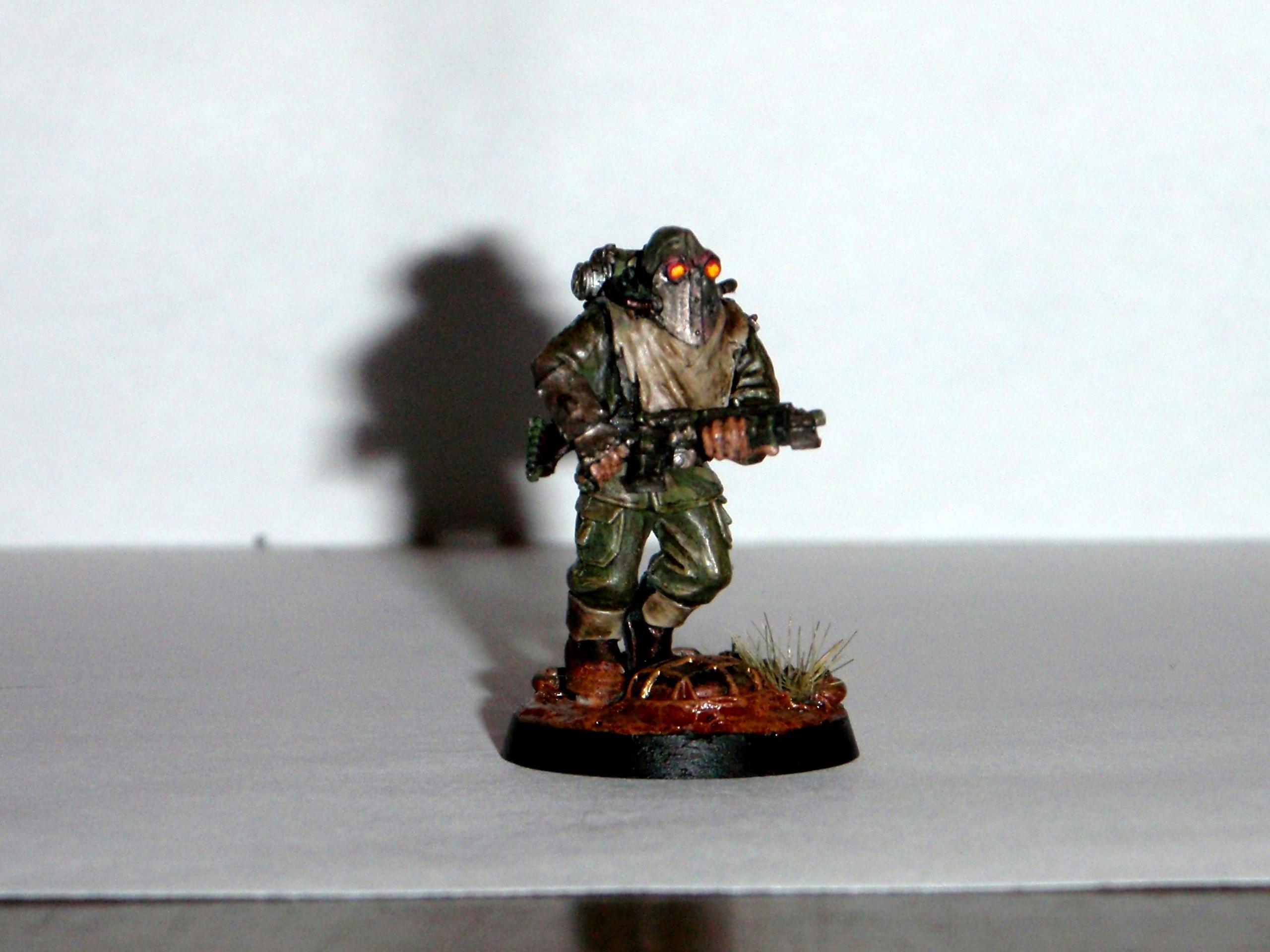 Painting, Renegade Guard, Warhammer 40,000