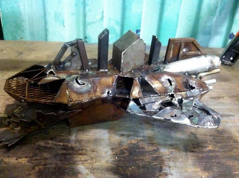 Debris, Homemade, Metal, Ship