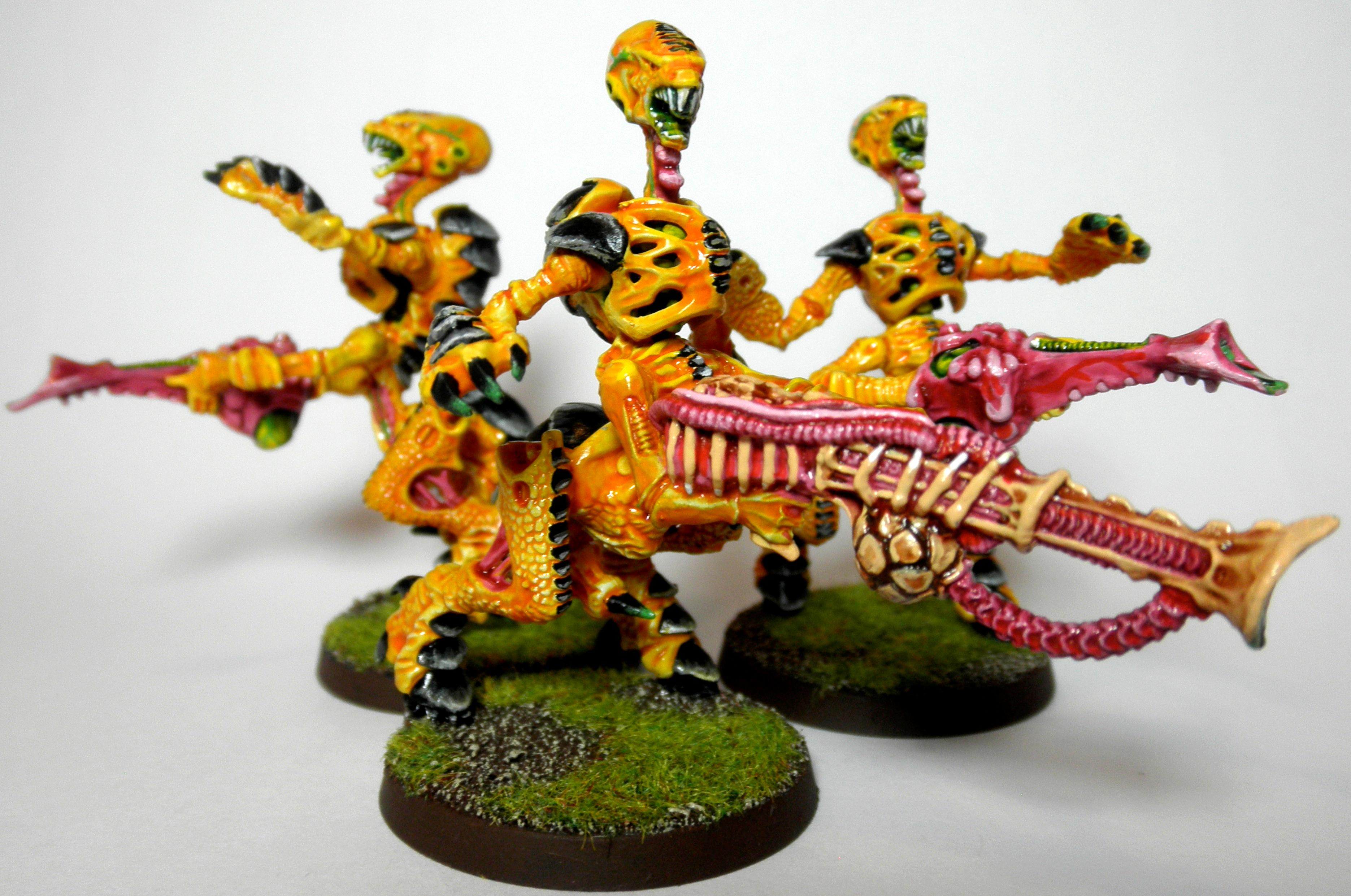 1st, 2nd, Barbed Stranler, Bright, Conversion, Death Spitter, Rouge Trader, Tyranids, Yellow