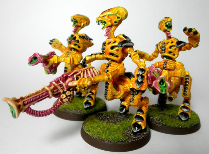 1st, 2nd, Barbed Strangler, Bright, Conversion, Deathspitter, Out Of Production, Rouge, Rouge Trader, Tyranids, Warriors, Yellow