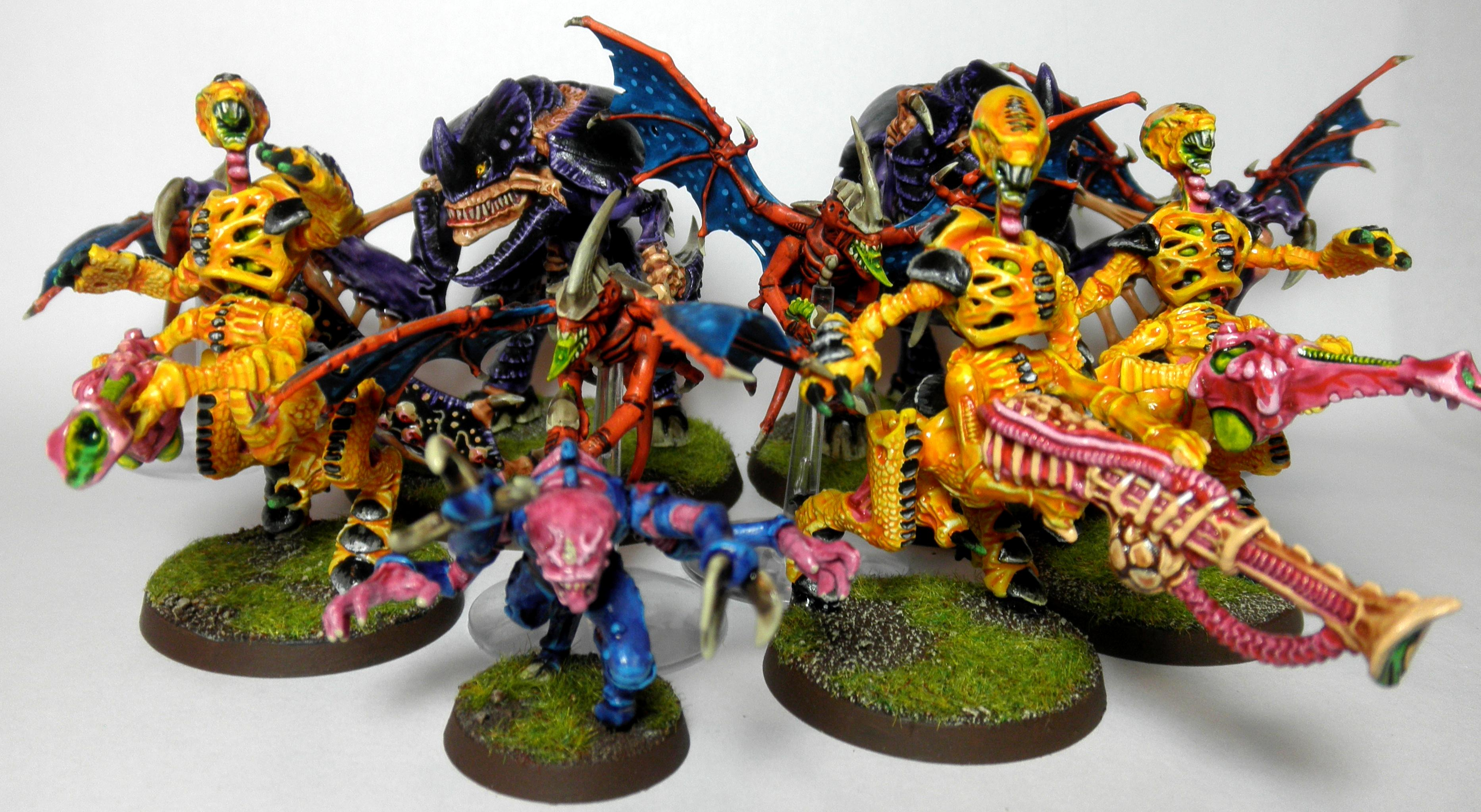 1st, 2nd, Bright, Conversion, Rouge Trader, Swarm, Tyranids