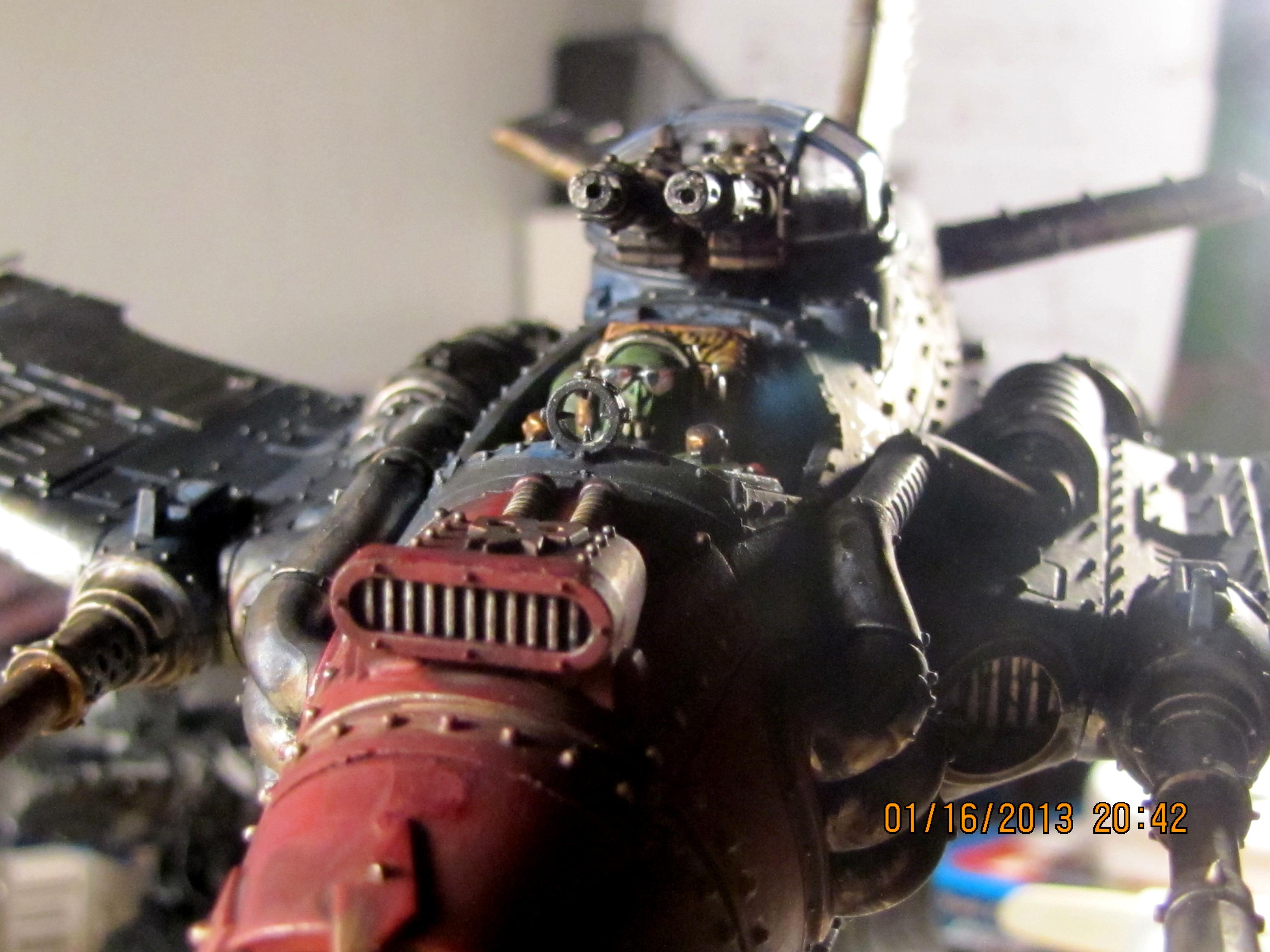 Dakkajet, Orks, Pilot/Engine Detail 1