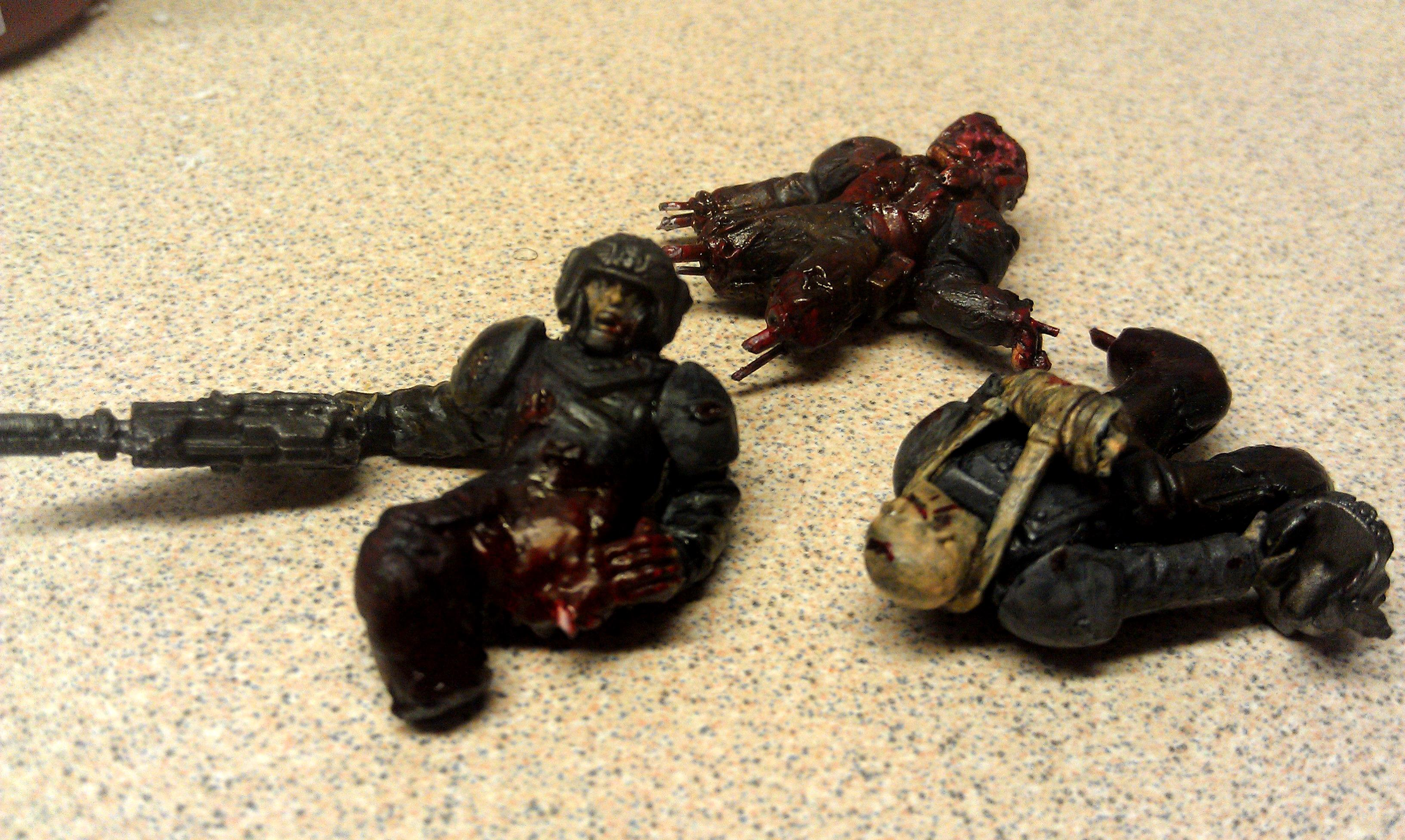 Bulaven, Dead, Imperial Guard, Wounded