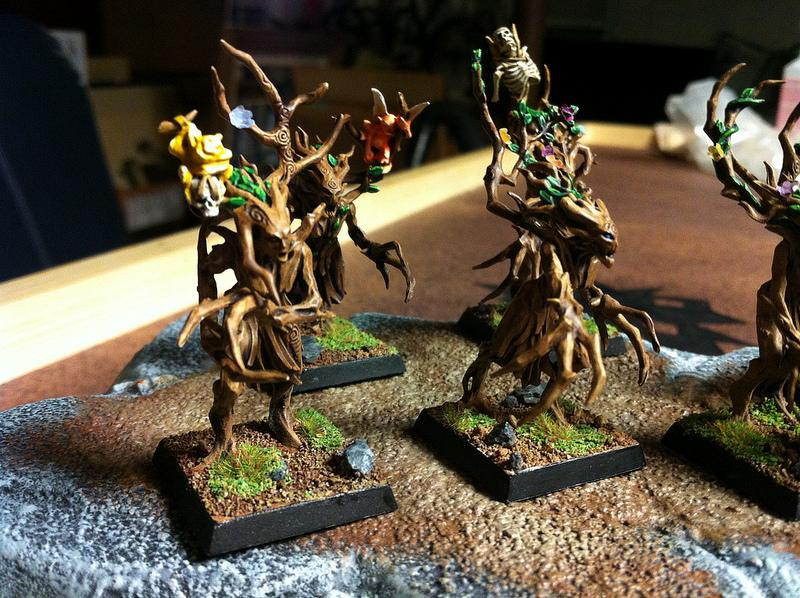 Dryad, Elves, Forest, Trees, Warhammer Fantasy, Wood