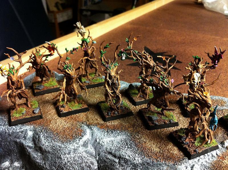 Dryad, Elves, Forest, Trees, Warhammer Fantasy, Wood