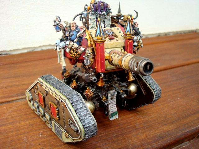 Blanche, Leman Russ, Over The Top