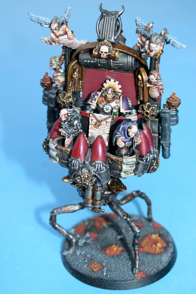 Adeptus Mechanicus, Floaty Thing, Tech Priest, Weird