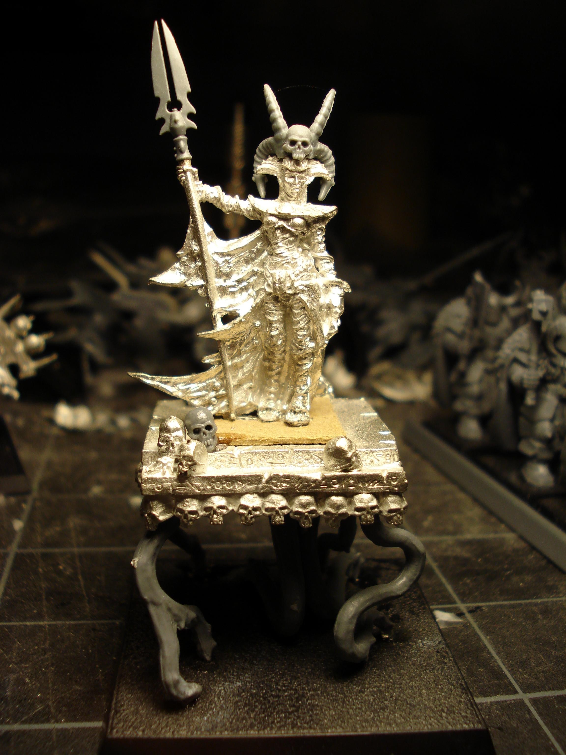 Chaos, Dark Elves, Female, Mount, Mounted, Nurgle, Palanquin, Palaquin, Sorceress, Tentacles, Tomb Kings, Warriors, Warriors Of Chaos