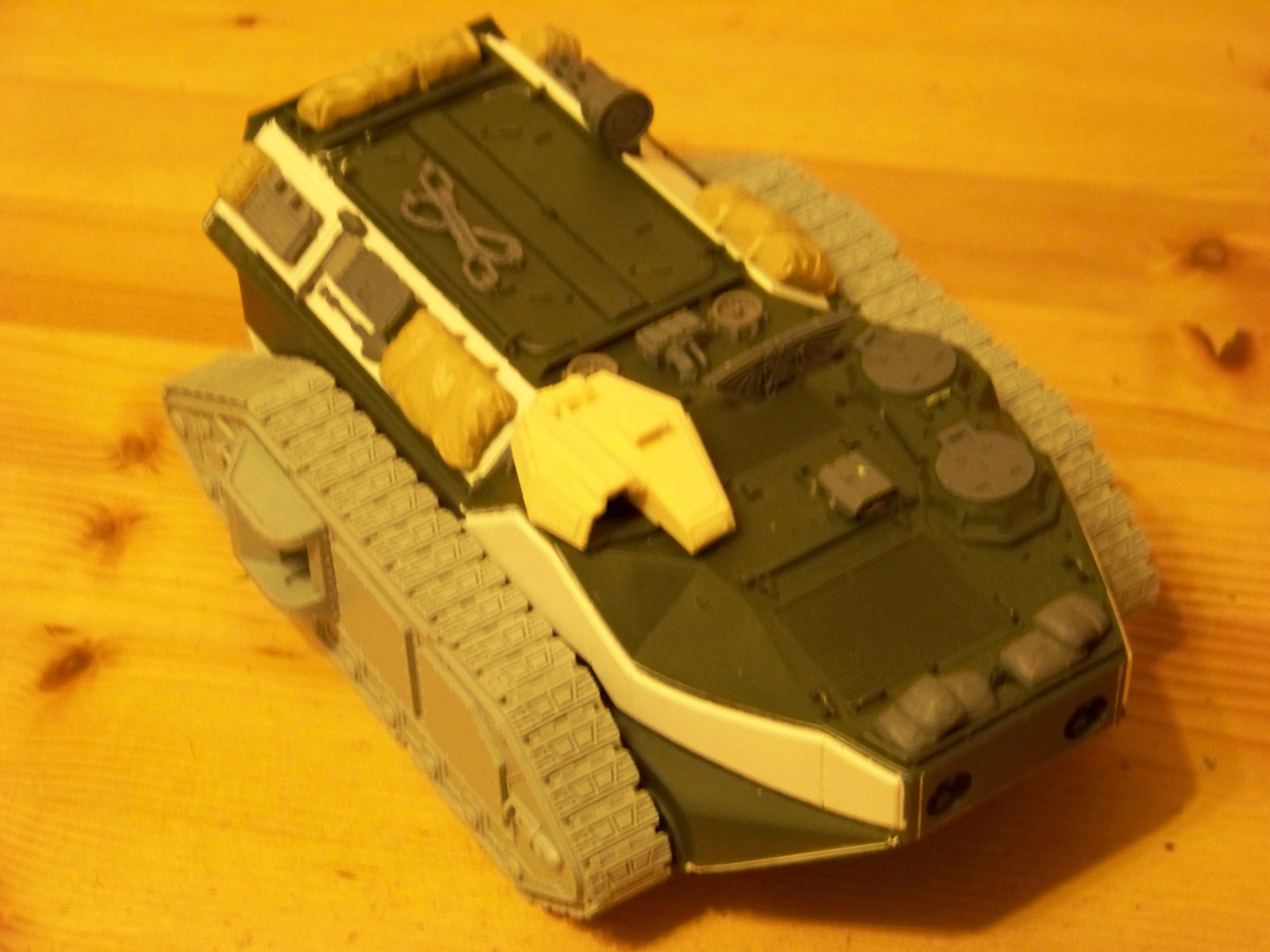 Armoured Transport, Crassus, Imperial Guard, Work In Progress