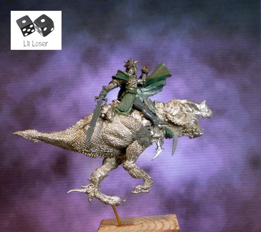 Cold One Knight, Conversion, Dark Elves, Druchii, Gamezone Predator, Naggarond