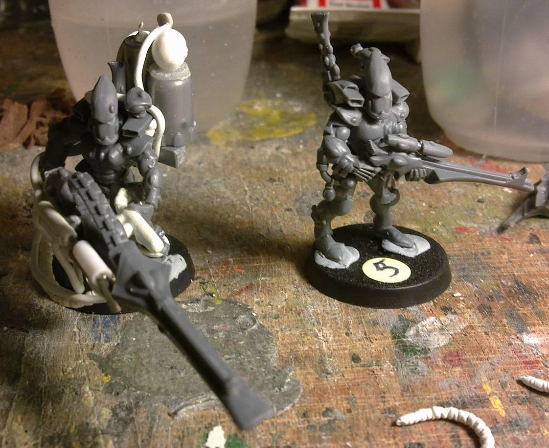 Eldar, Guardians, Warhammer 40,000, Work In Progress